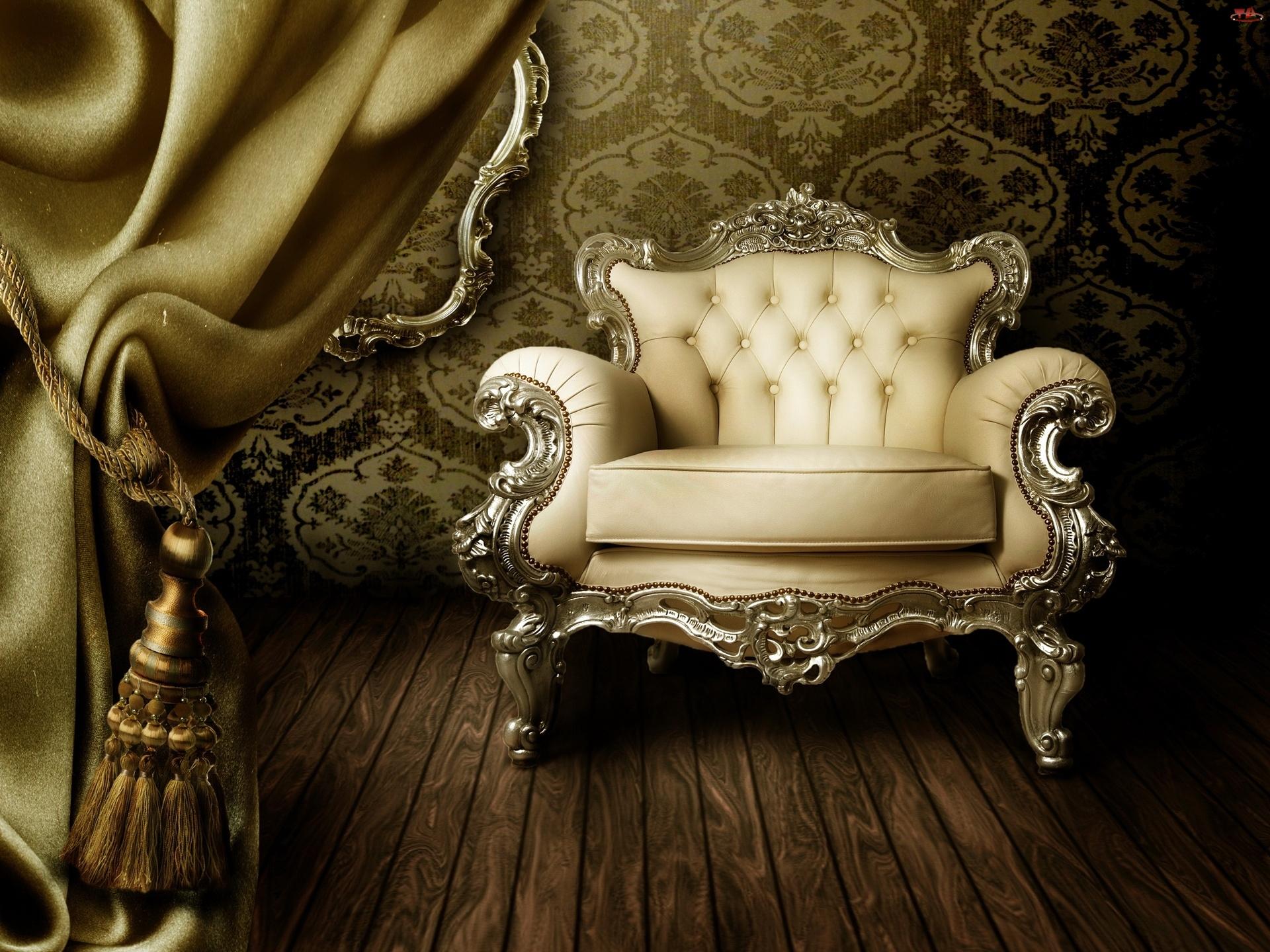 Pokój, Kotara, Stylowy, Fotel