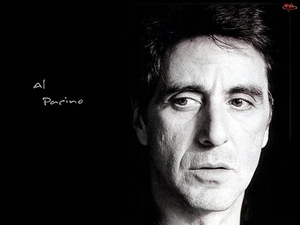 Al Pacino, oczy, twarz, ciemne