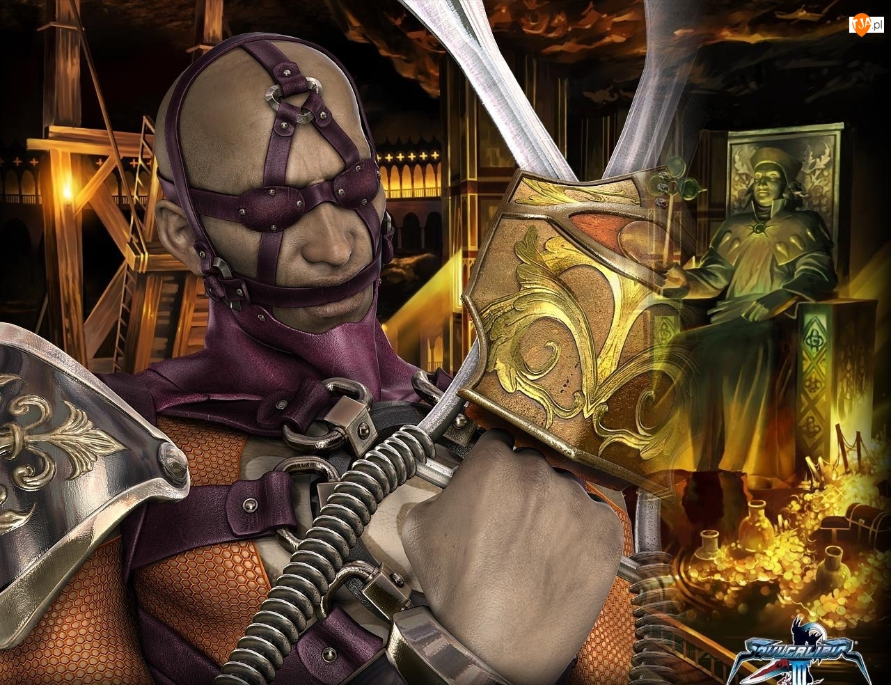 Katary, Mężczyzna, Voldo, Soul Calibur III