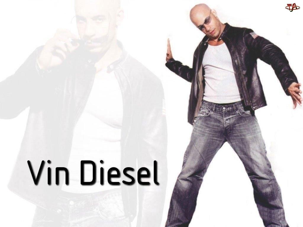 okulary, Vin Diesel, czarna kurtka