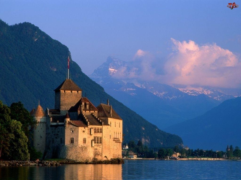 Szwajcaria, Góry