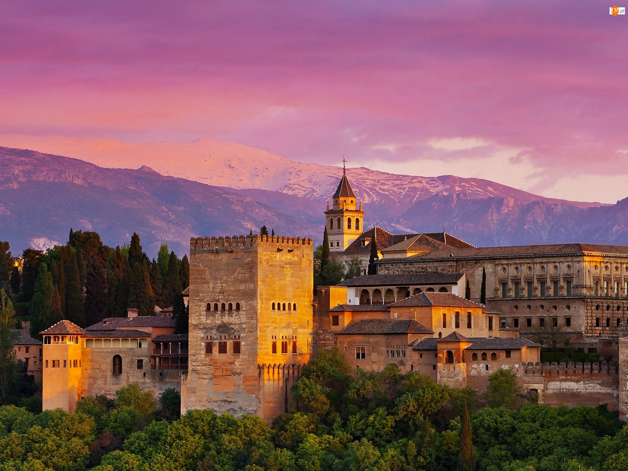Alhambra, Grenada, Zespół, Warowny, Pałacowy