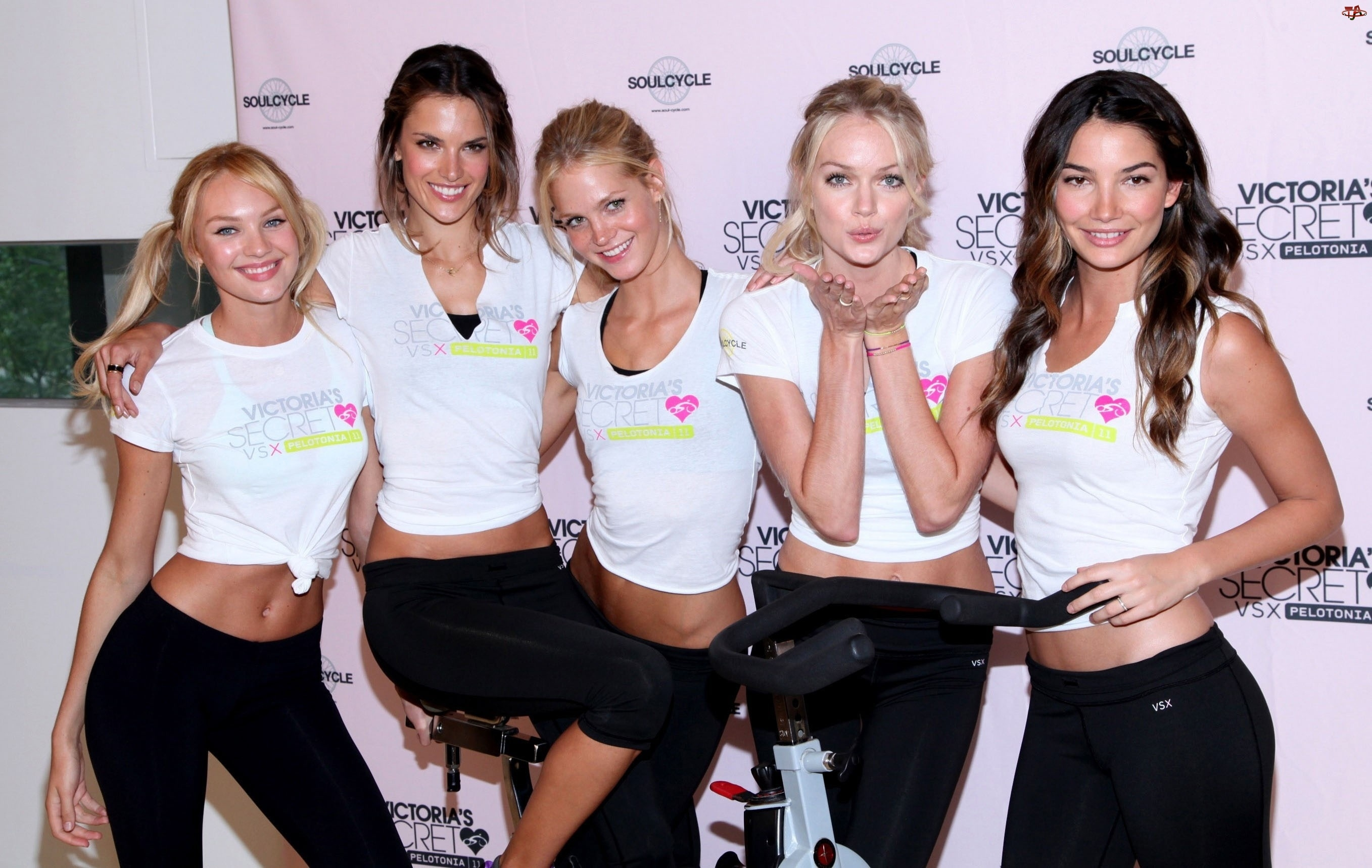 Lily Aldridge, Modelki, Erin Heatherton, Lindsay Ellingson, Candice Swanepoel, Alessandra Ambrosio