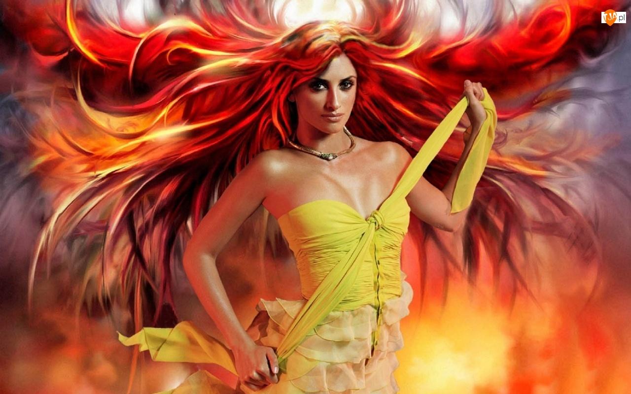 Penelope Cruz, Ogień