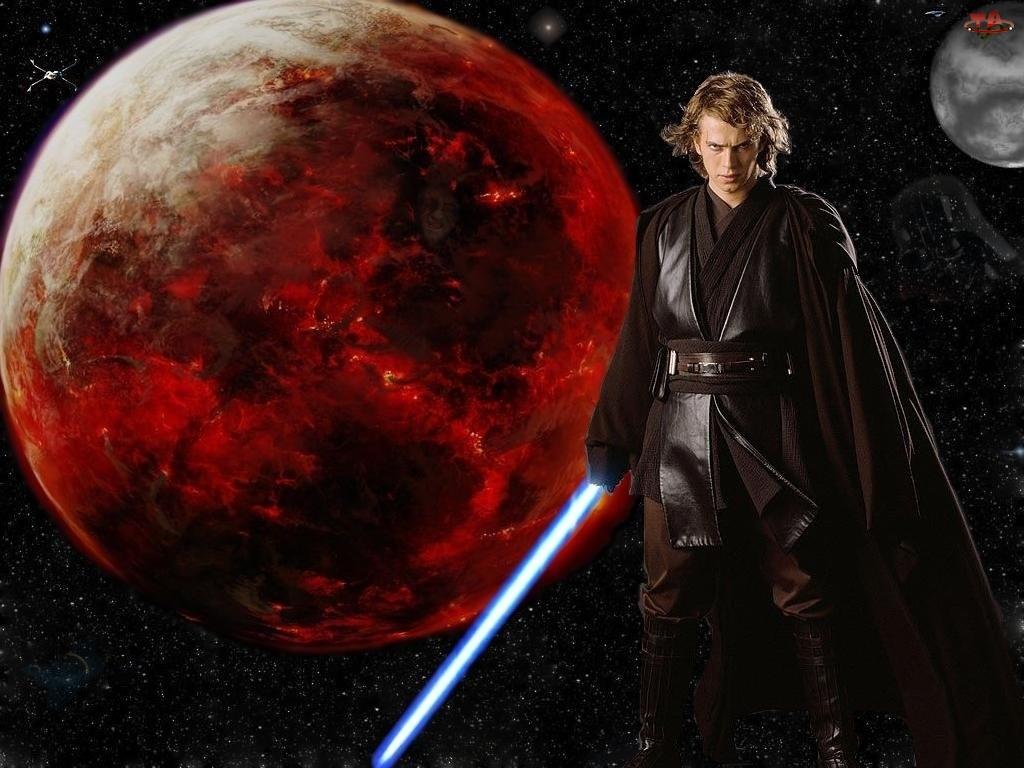 miecz, Hayden Christensen, planeta