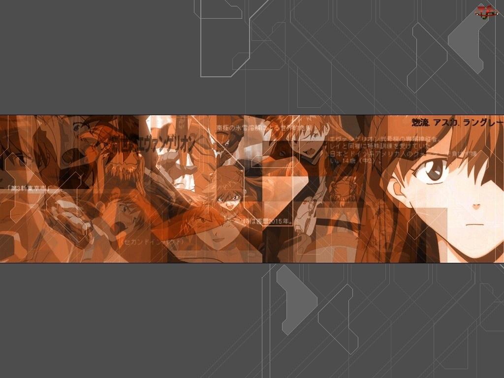 Neon Genesis Evangelion, ludzie