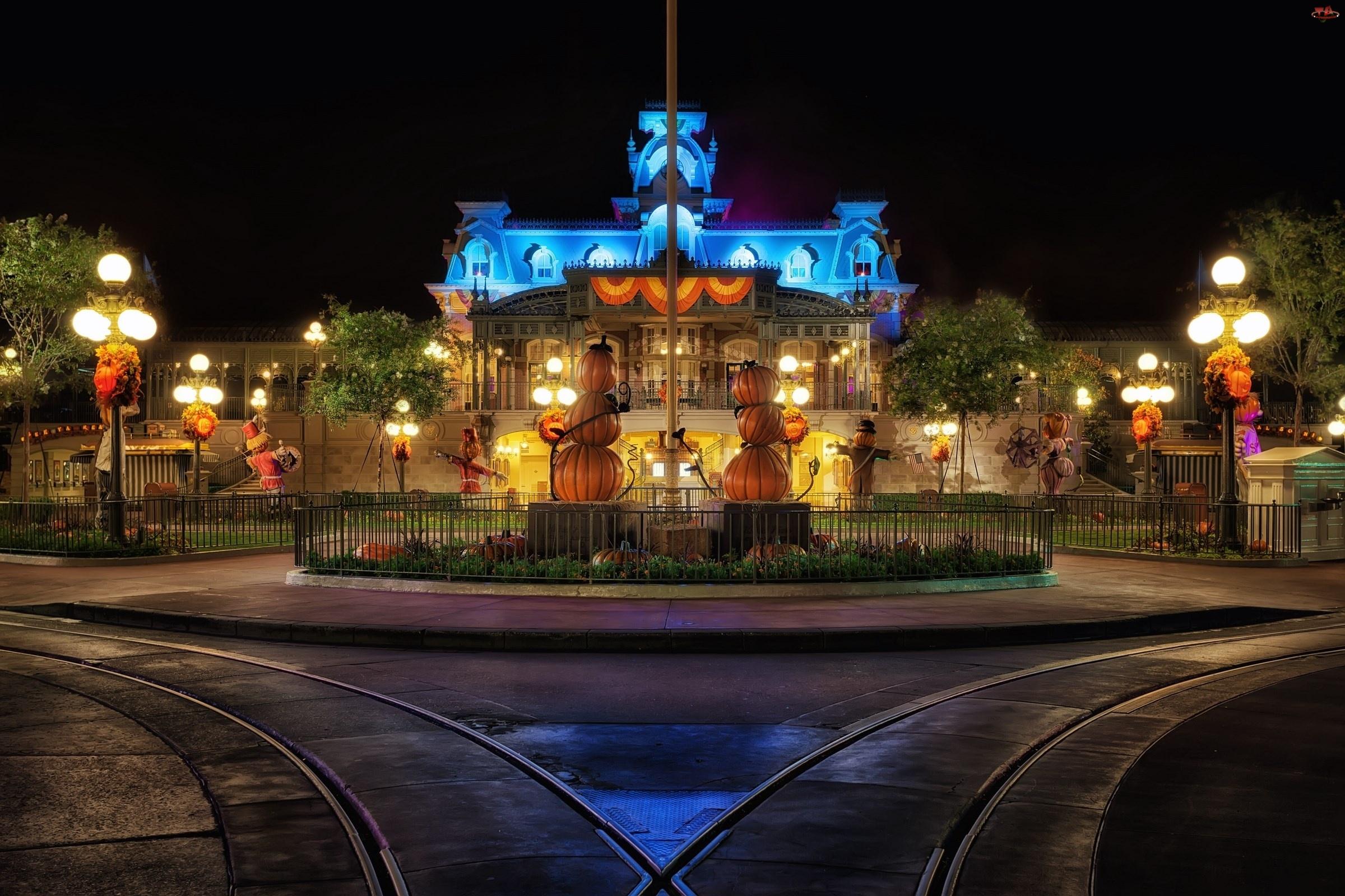 Ulica, USA, Halloween, Disneyland
