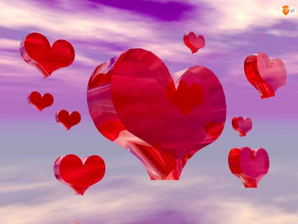 serca, Walentynki, Niebo