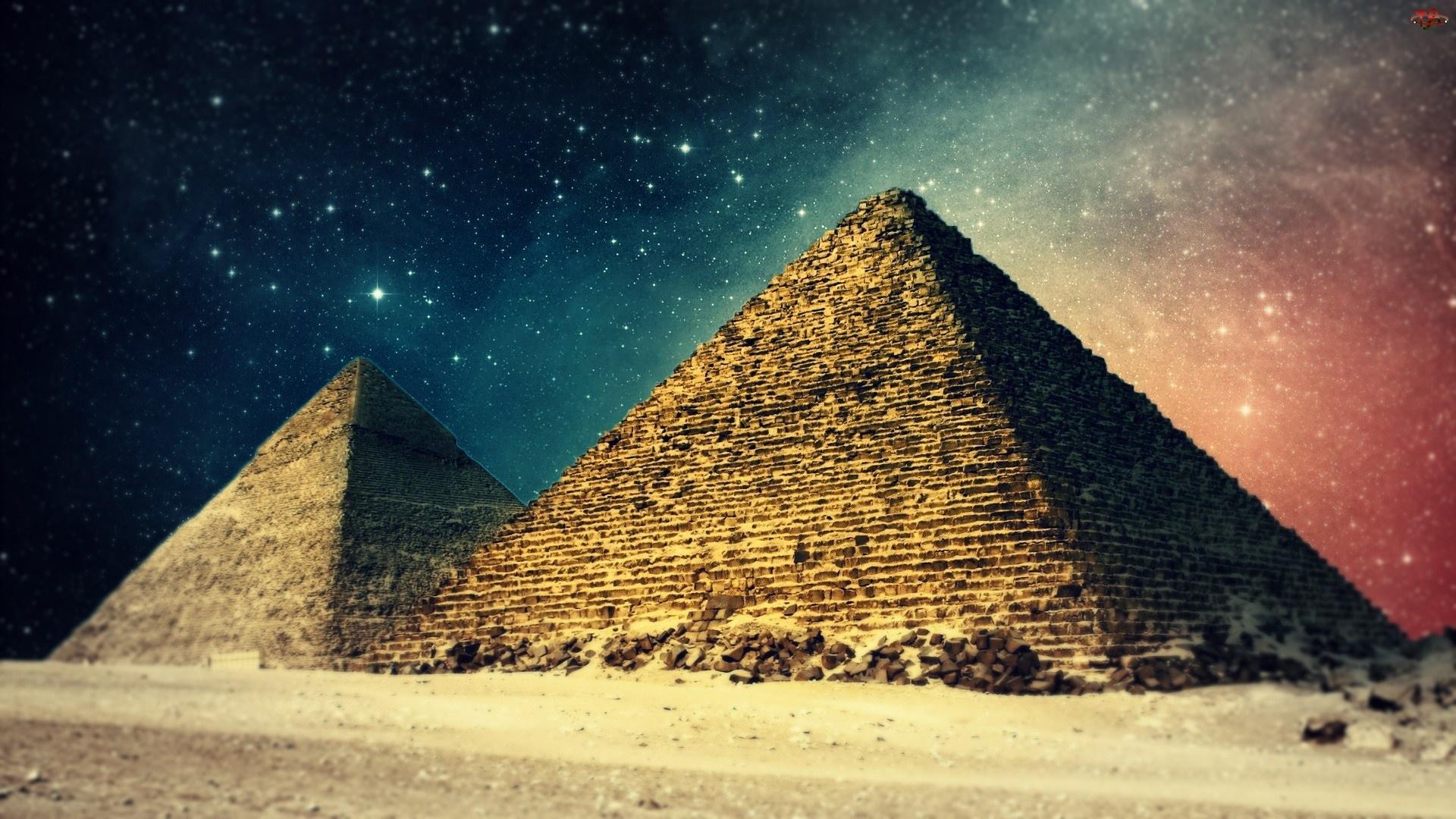 Piramidy, Noc