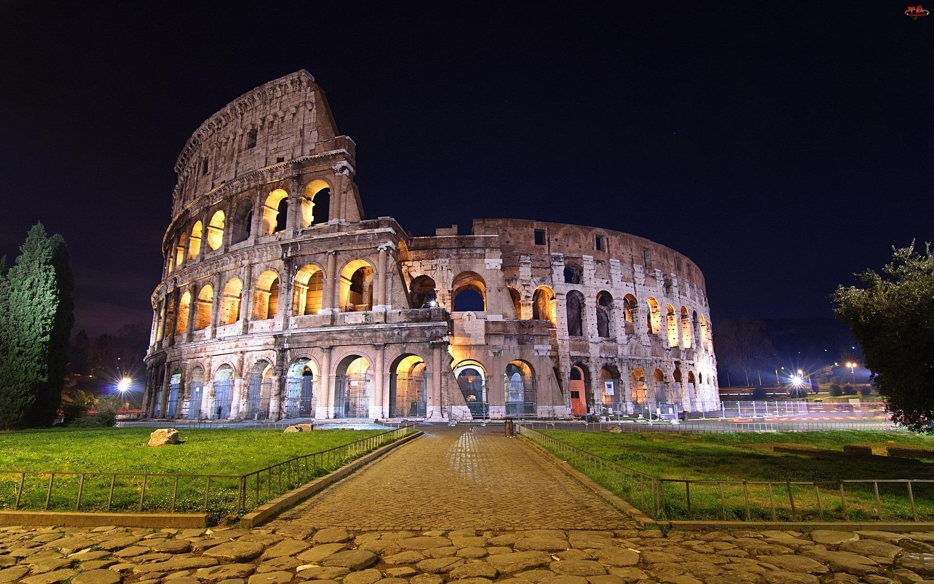 Włochy, Koloseum, Rzym