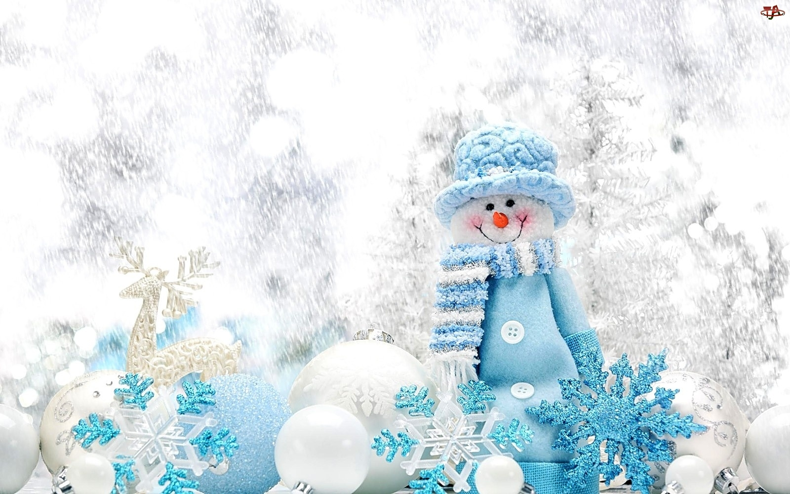 Bombki, Święta, Bałwanek