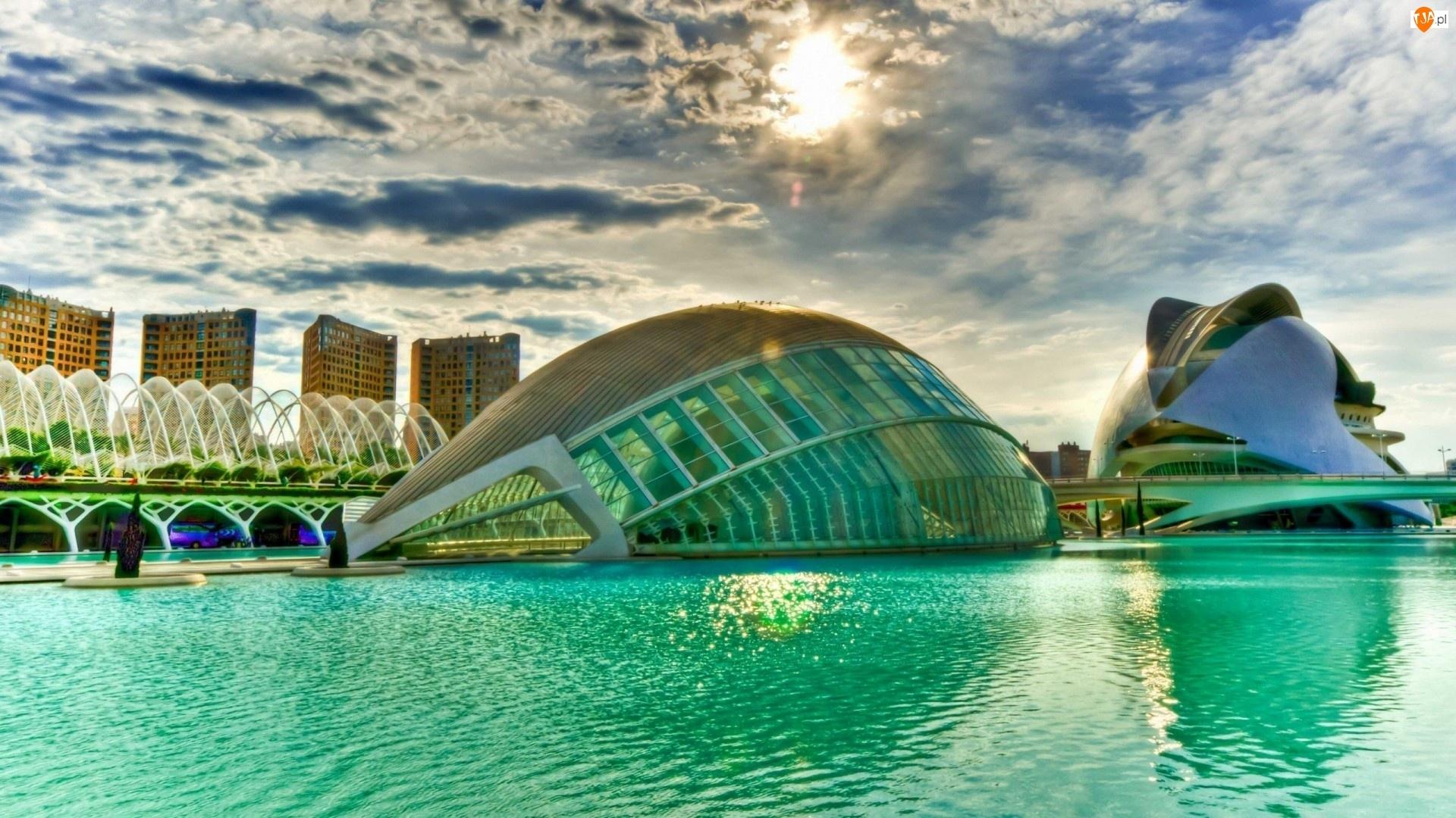 Hiszpania, Ciutat De Les Arts, Walencja