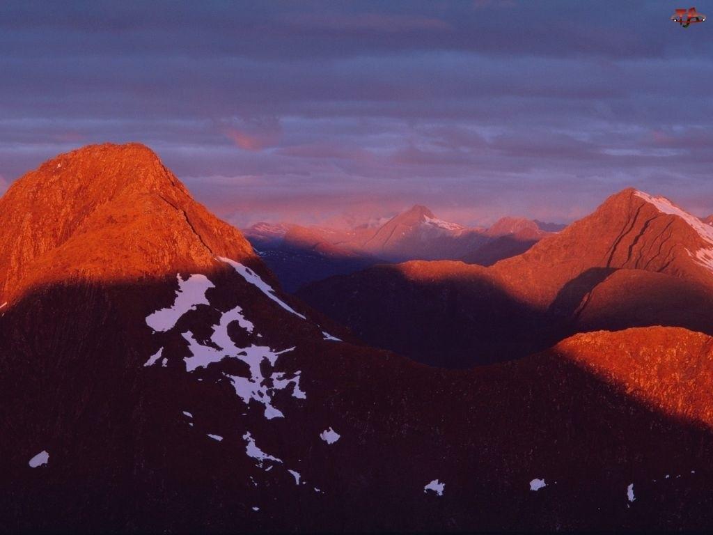 Nowa Zelandia, Góry
