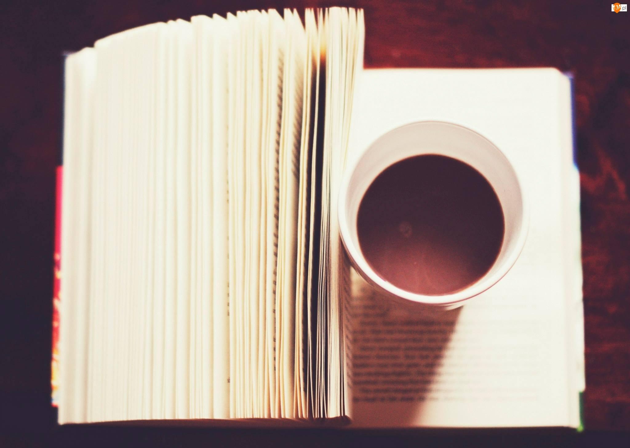 Książka, Kawa