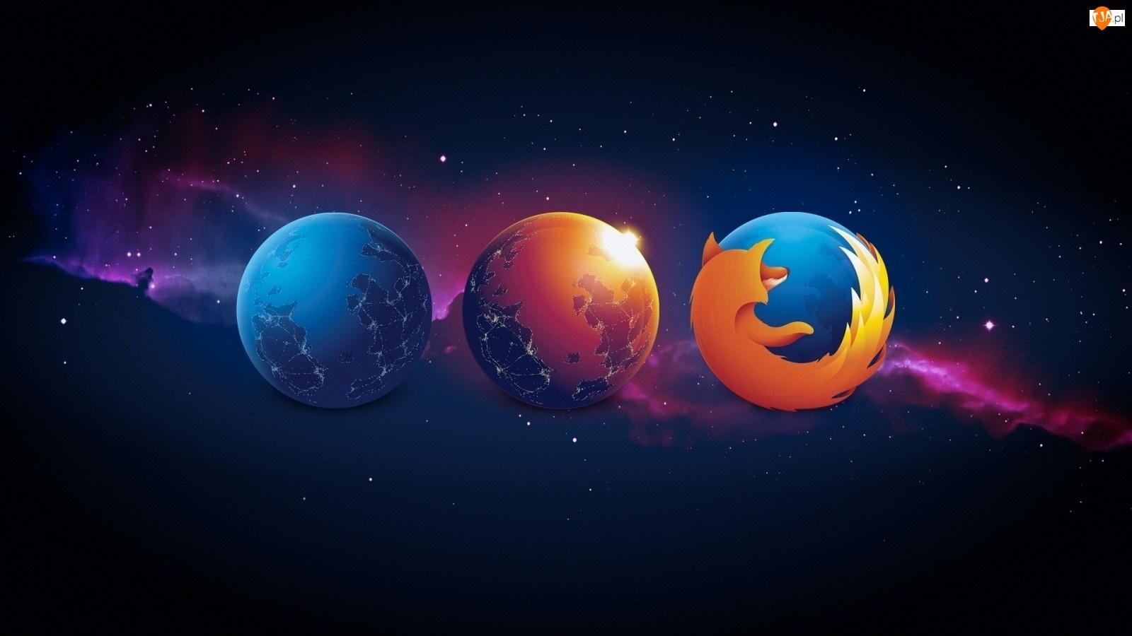 Firefox, Gwiazdy