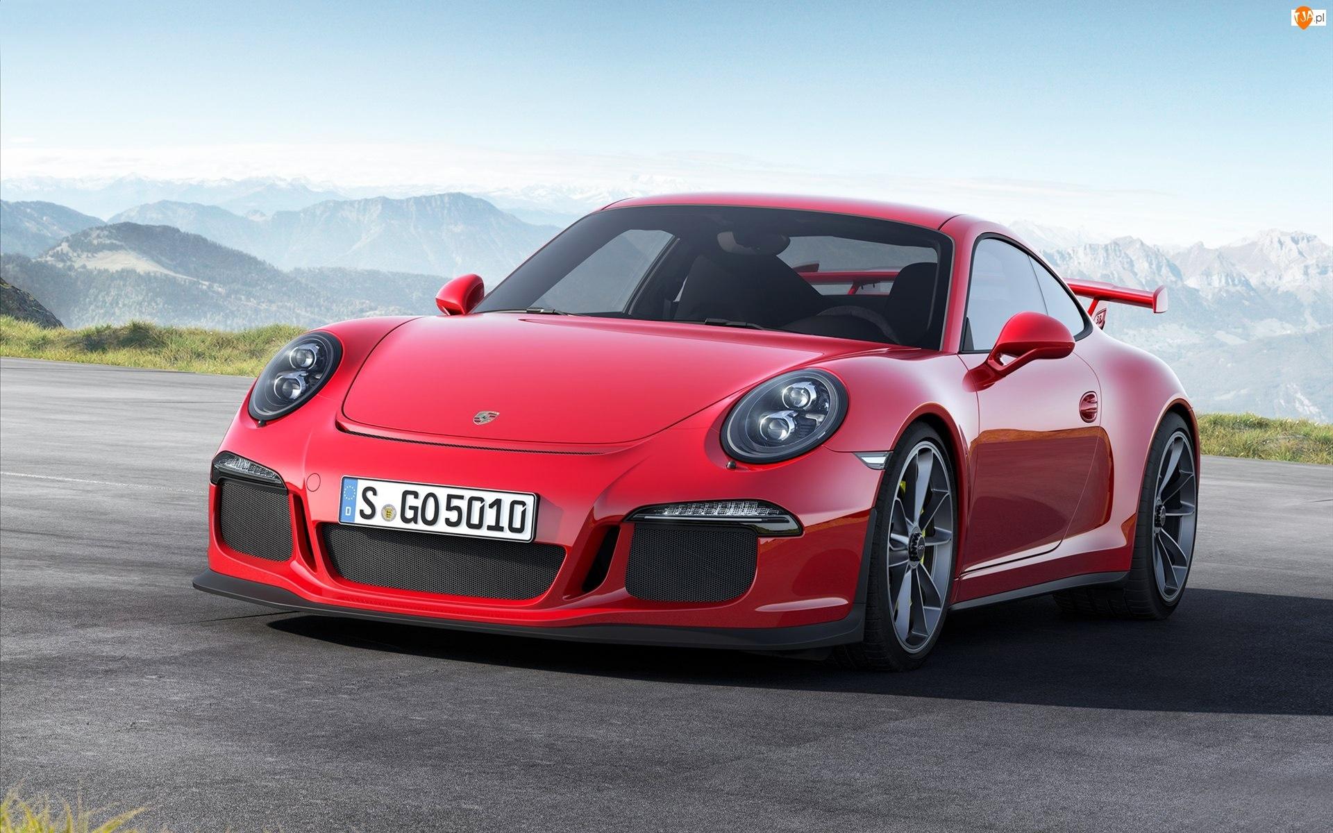 Porsche 911 GT3, Czerwone