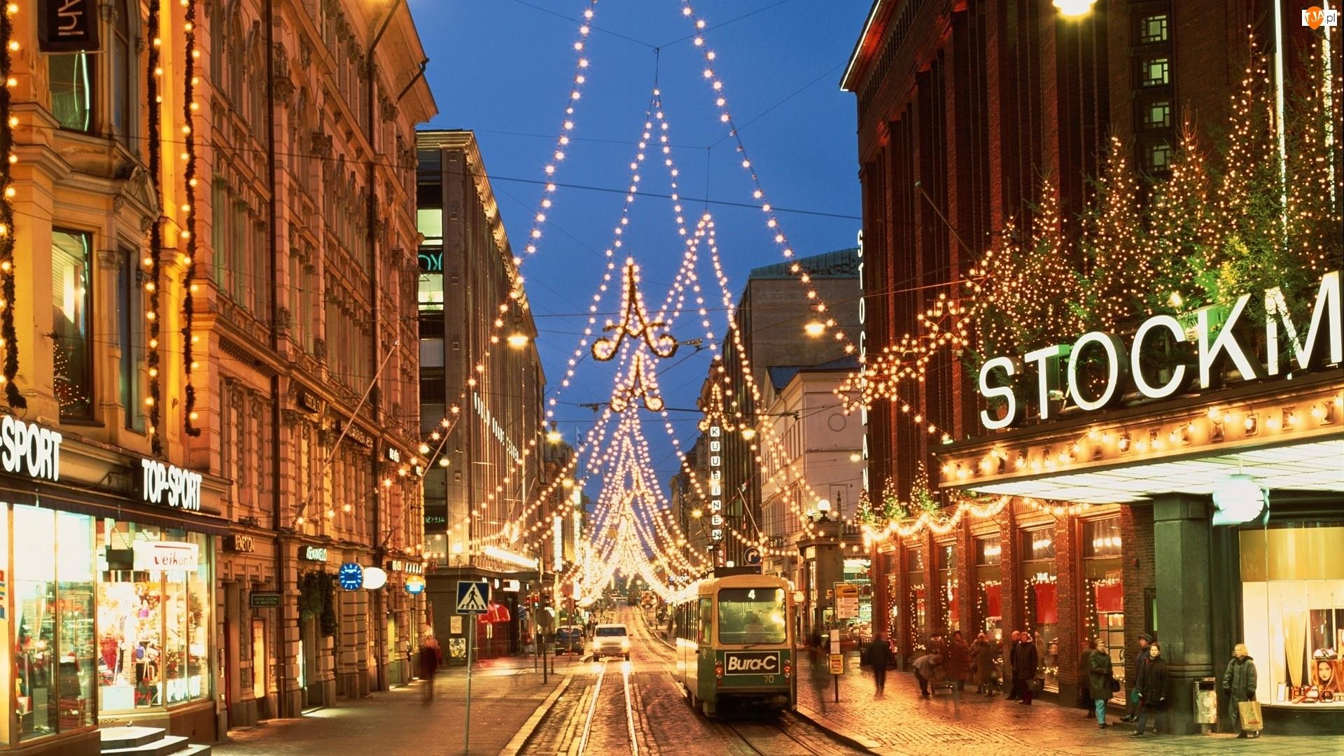 Domy, Finlandia, Ulica, Dekoracja