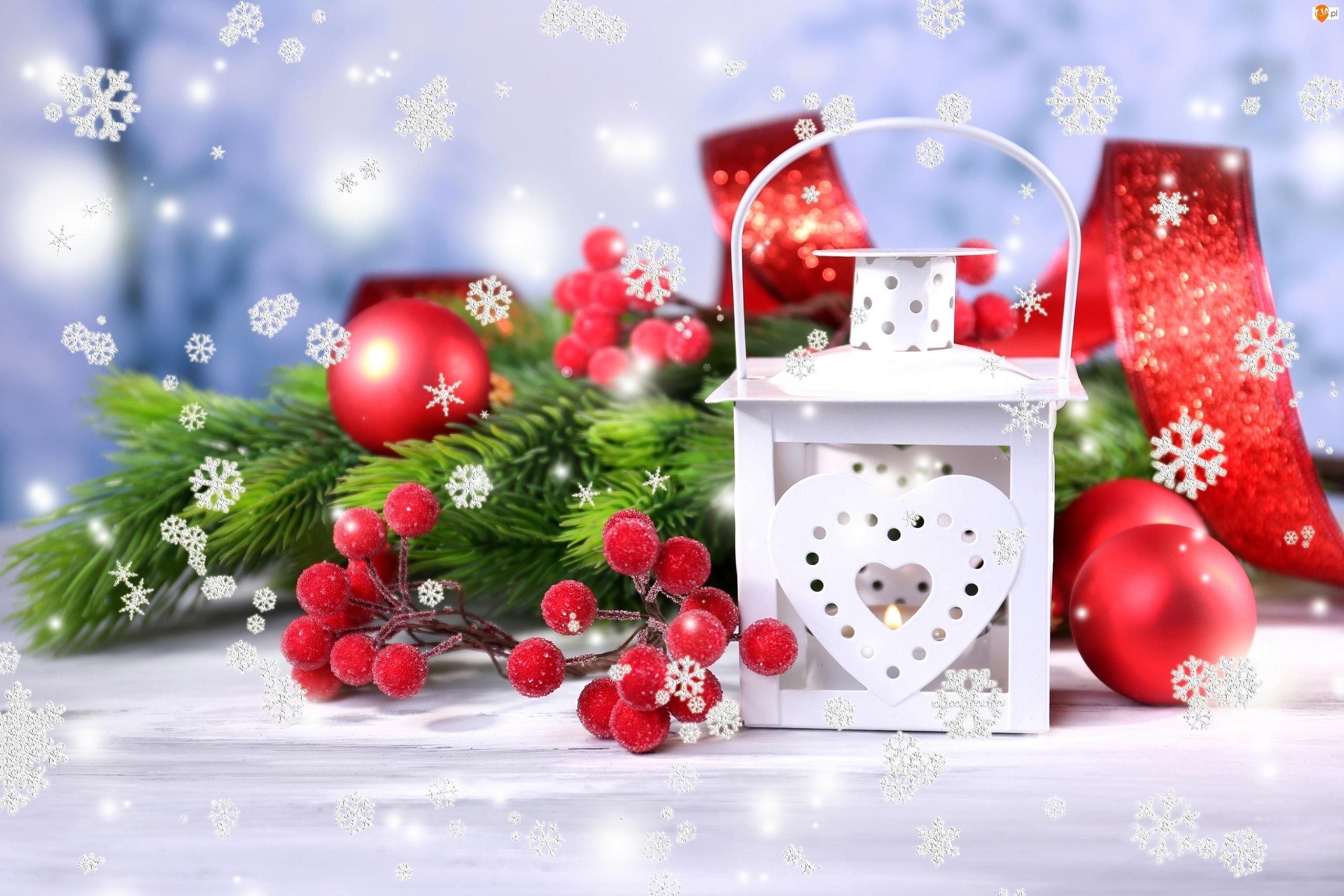 Boże Narodzenie, Lampion, Kompozycja