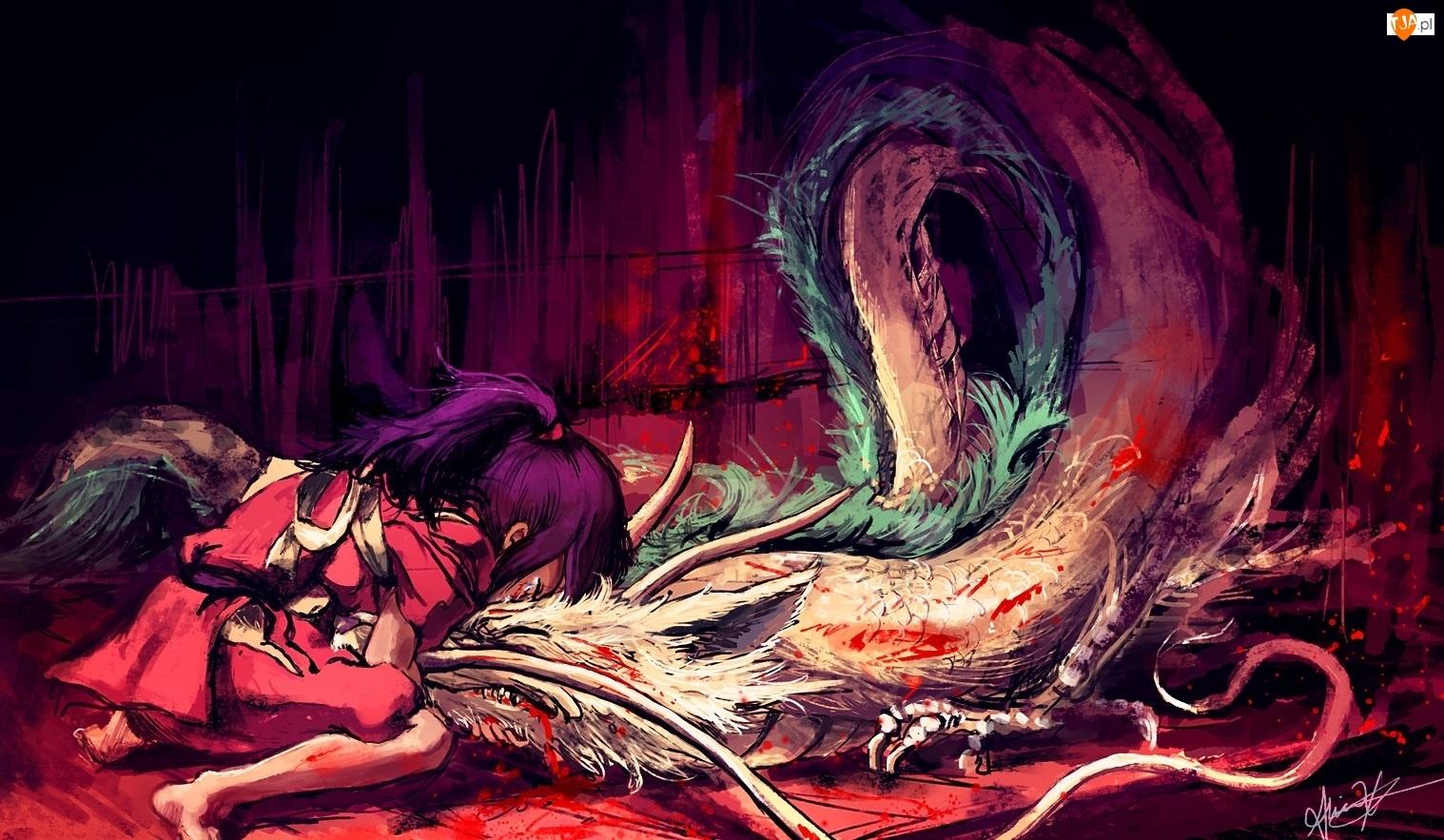 Alice X. Zhang, Spirited Away