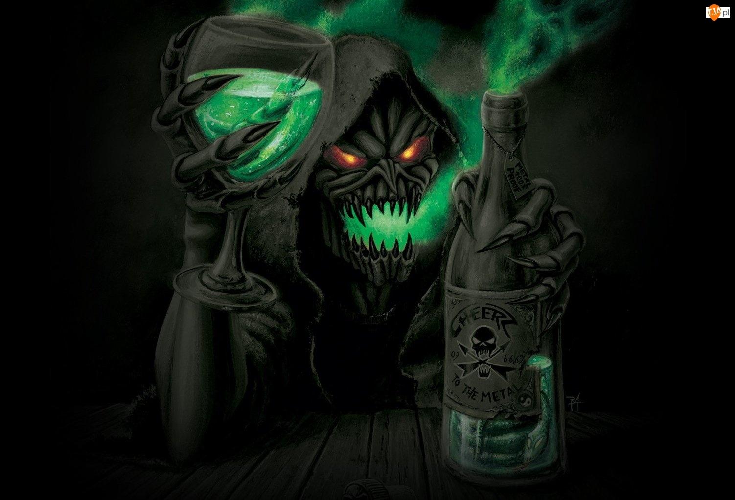 Gamma Ray, Kieliszek, Potwór, Butelka