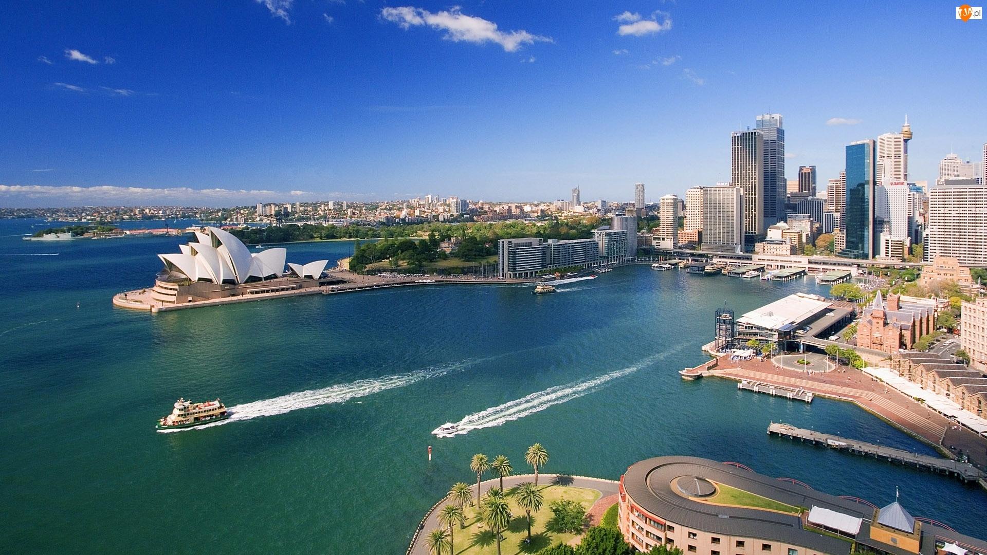 Wybrzeże, Opera, Australia, Sydney