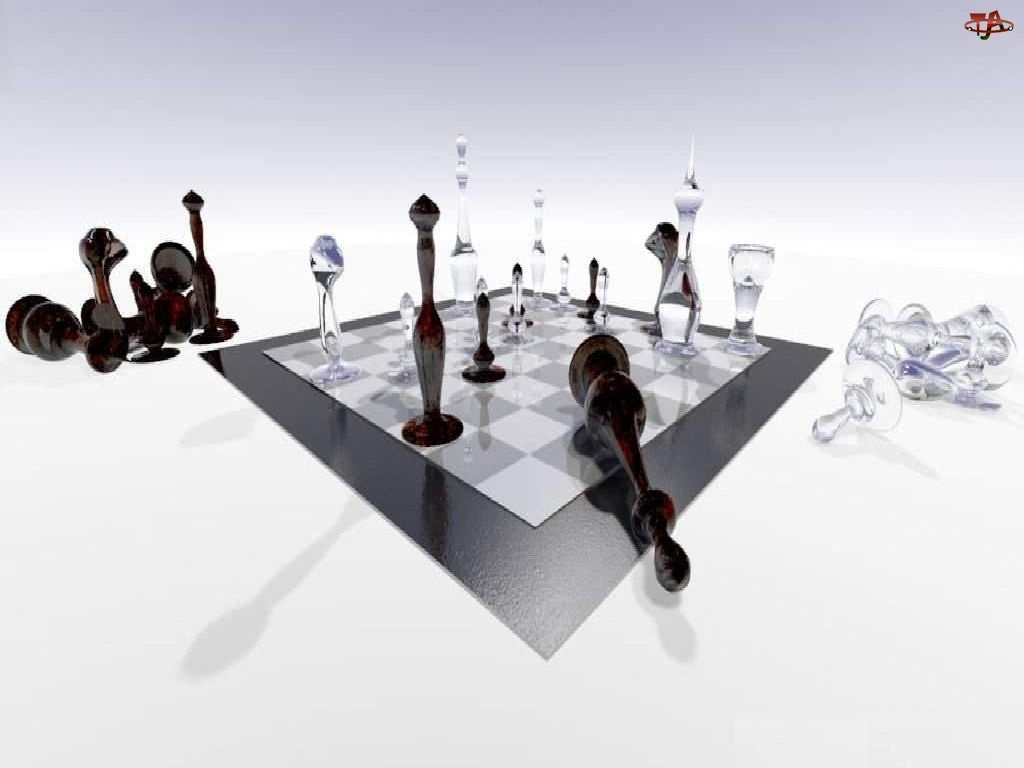 Szachownica, Grafika 3D, Szachy