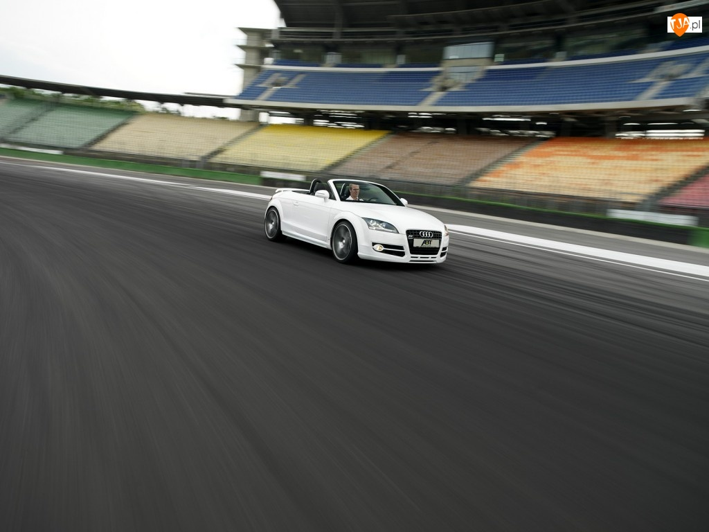 Wyścigowy, Audi TT, Tor