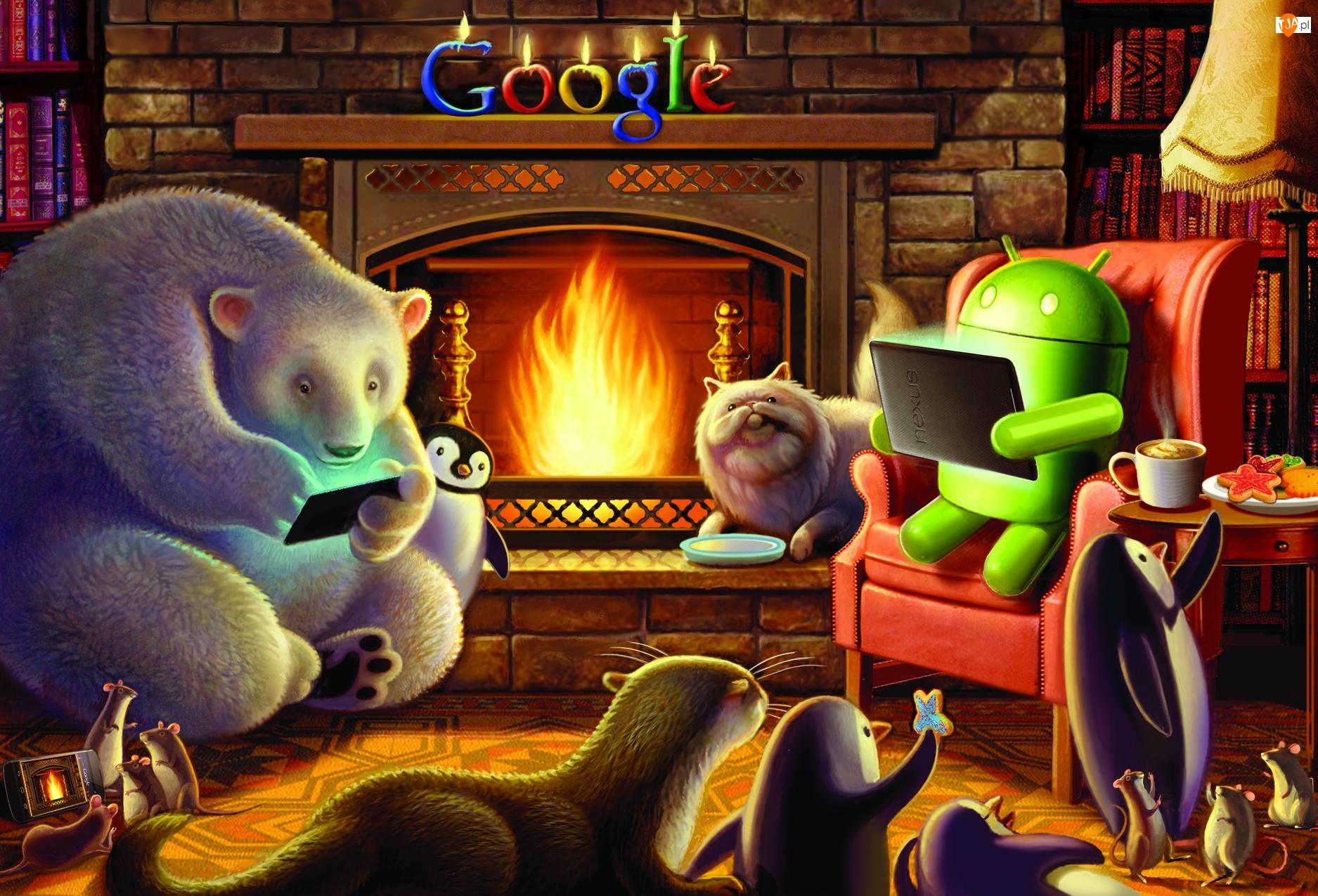 Google, Kominek