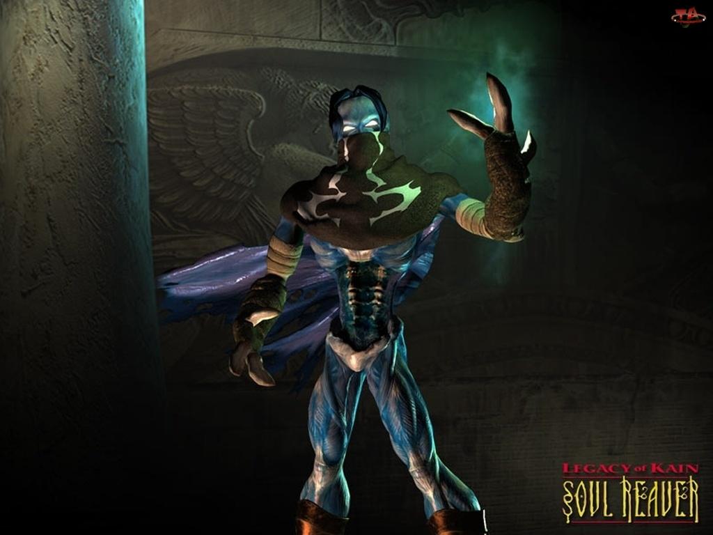 Legacy Of Kain Soul Reaver, peleryna, postać, potwór