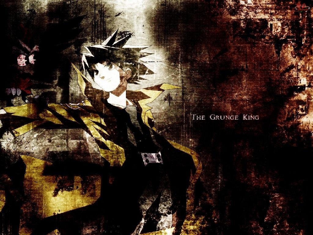 King Of Bandit Jing, grunge, osoba