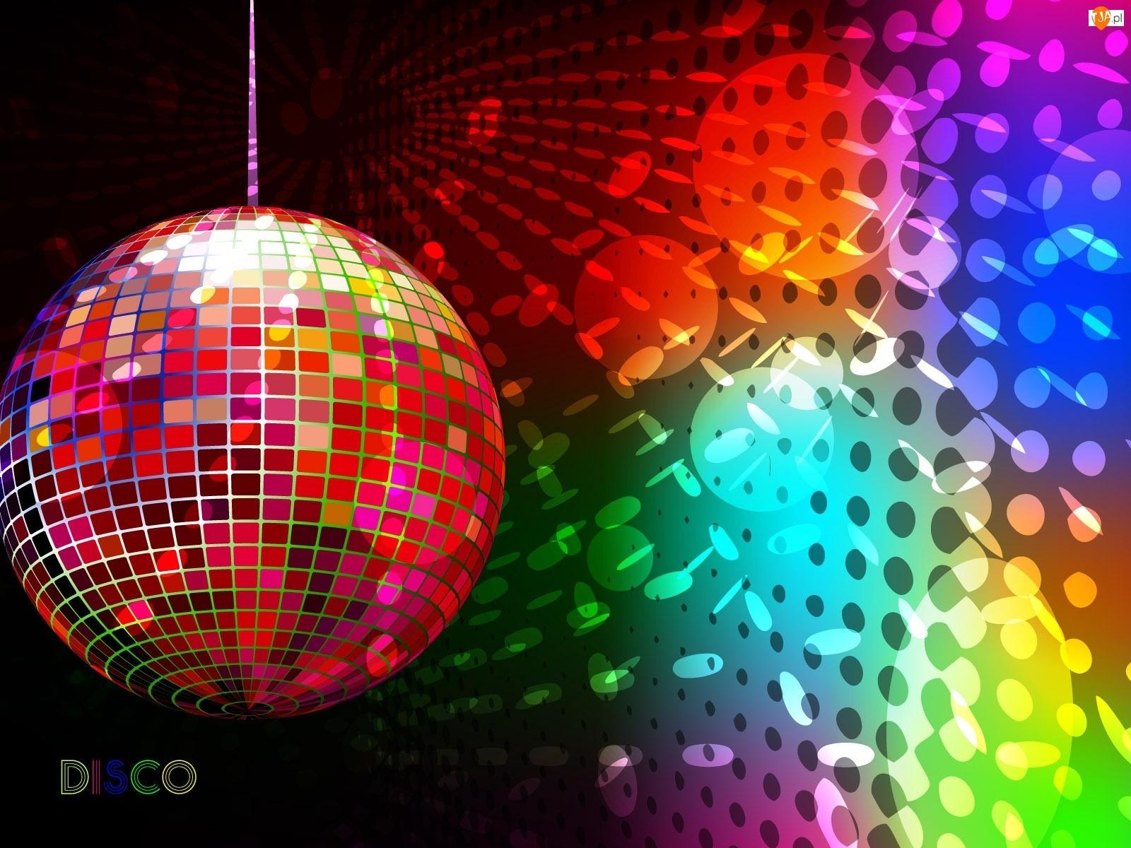 Disco, Blask, Kula, Oświetlenie
