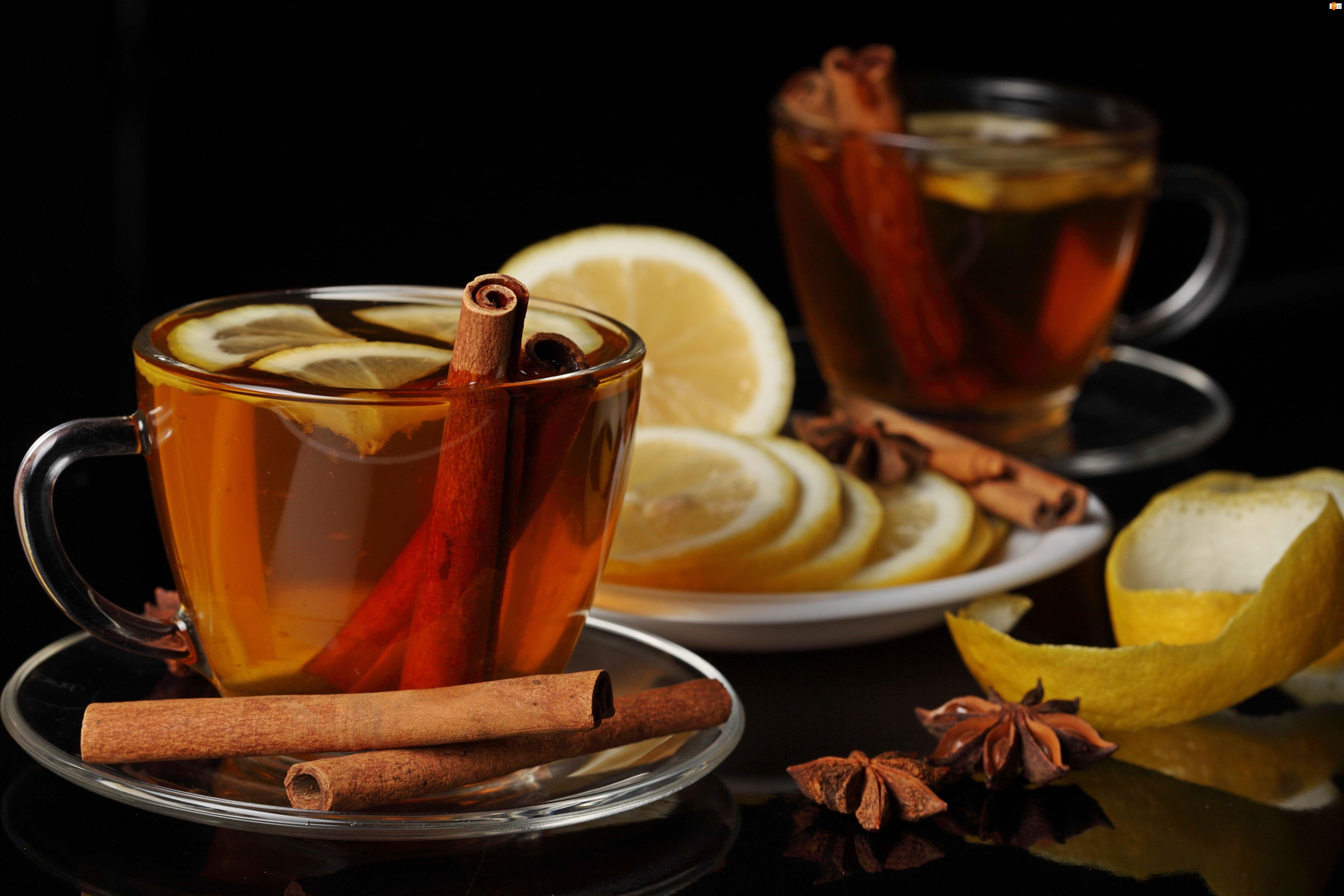 Rozmycie, Herbata, Karambola, Cynamon, Cytryna