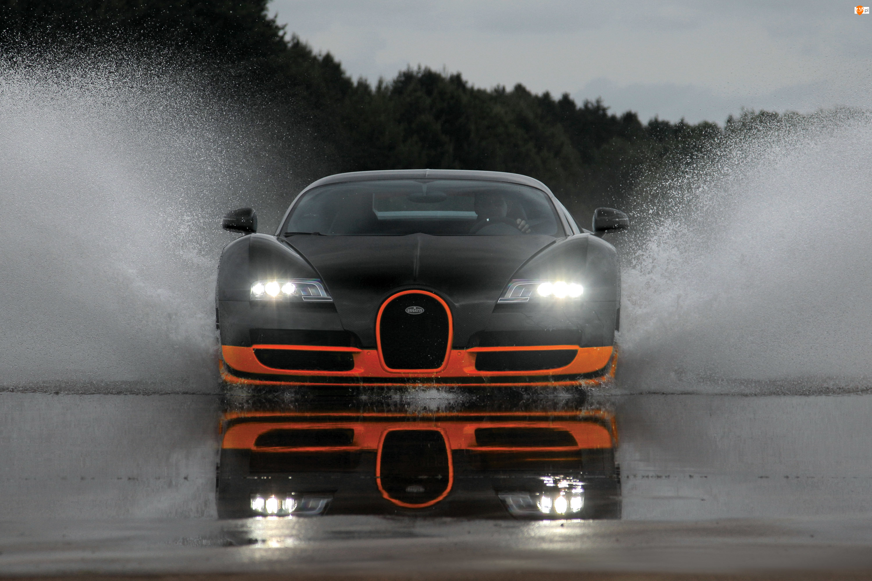 Woda, Bugatti Veyron Super Sport, Test