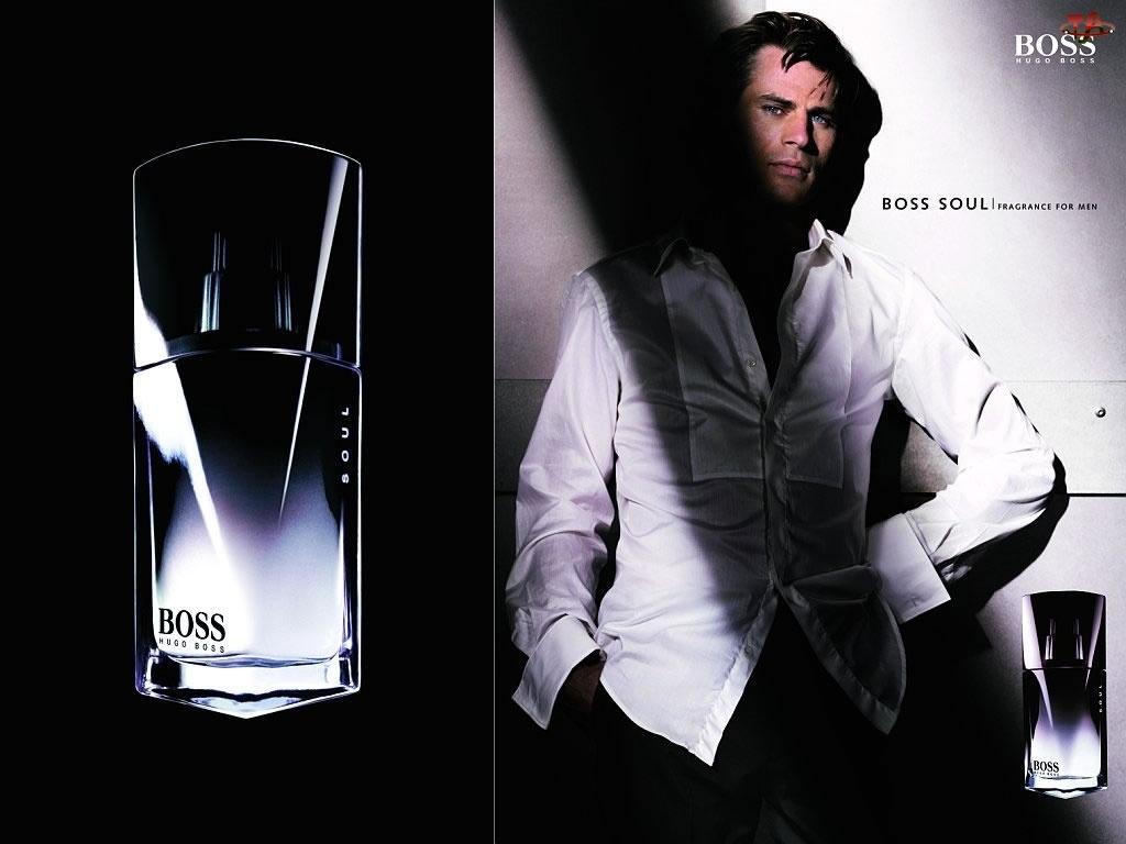 perfumy, Hugo Boss, koszula, mężczyzna, flakon