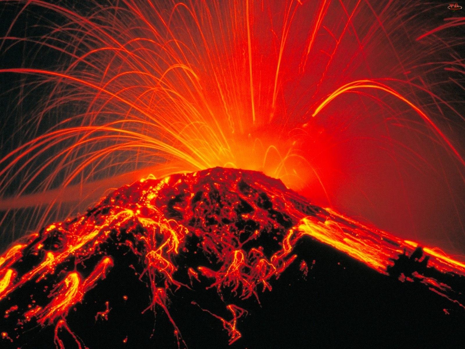 Wulkan , Arenal, Narodowy, Park, Kostaryka