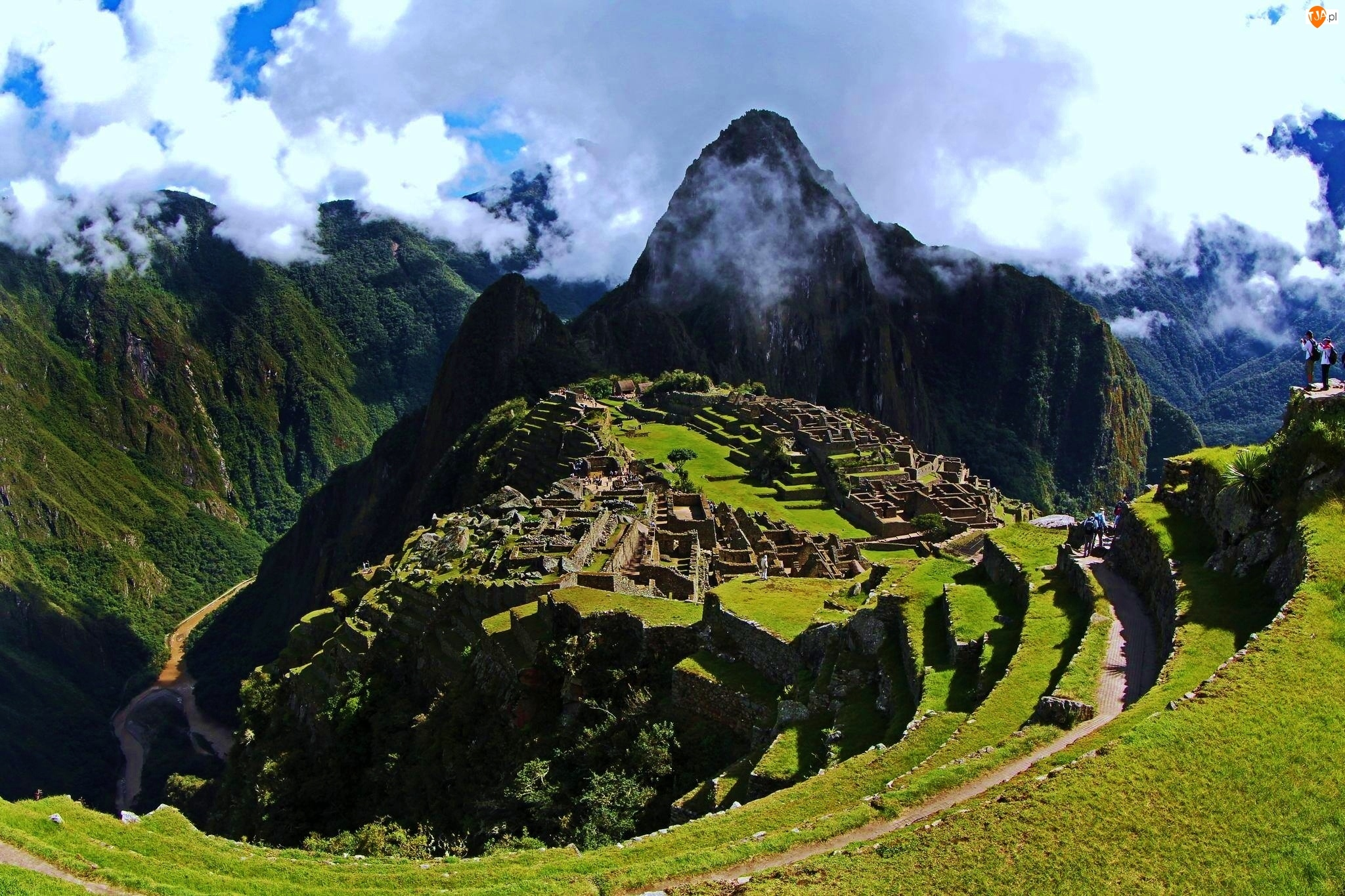 Machu, Chmury, Picchu, Góry