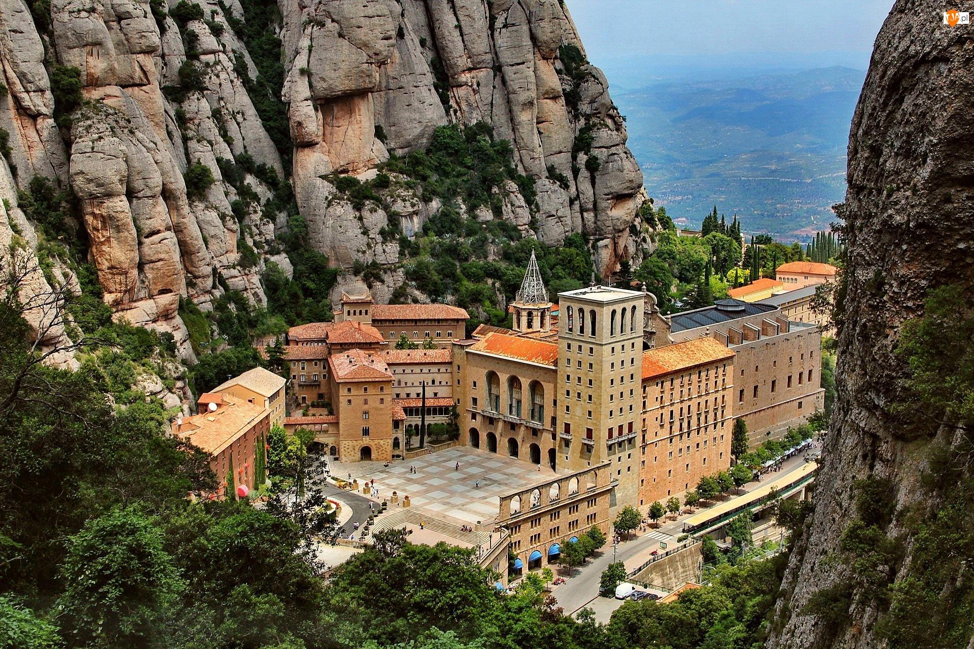 Hiszpania, Góry, Klasztor Montserrat