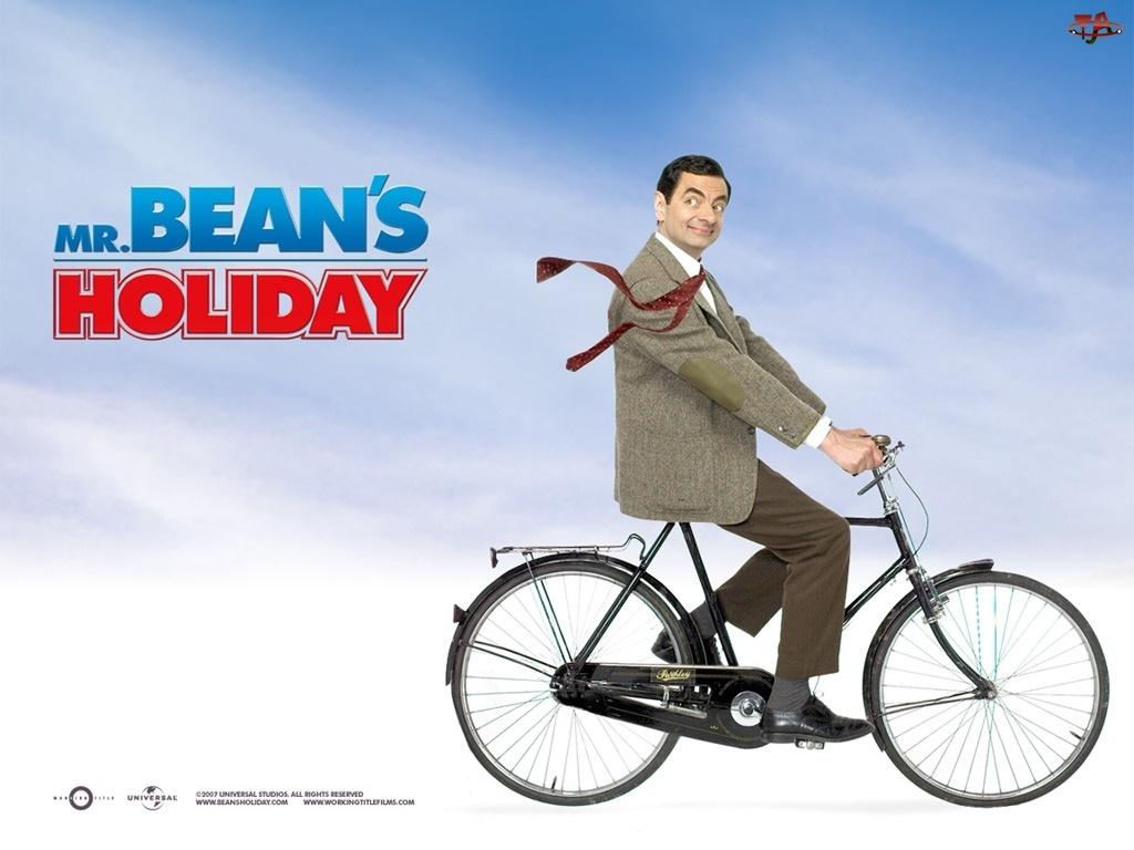 Rowan Atkinson, Jaś Fasola, rower
