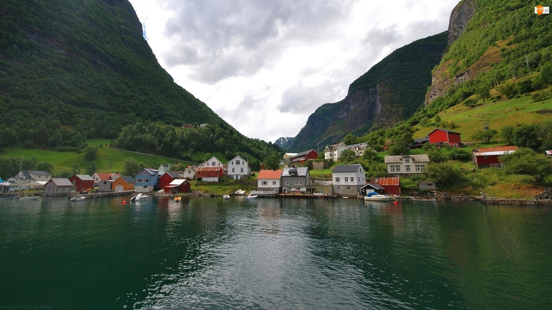 Wieś, Góry, Norwegia