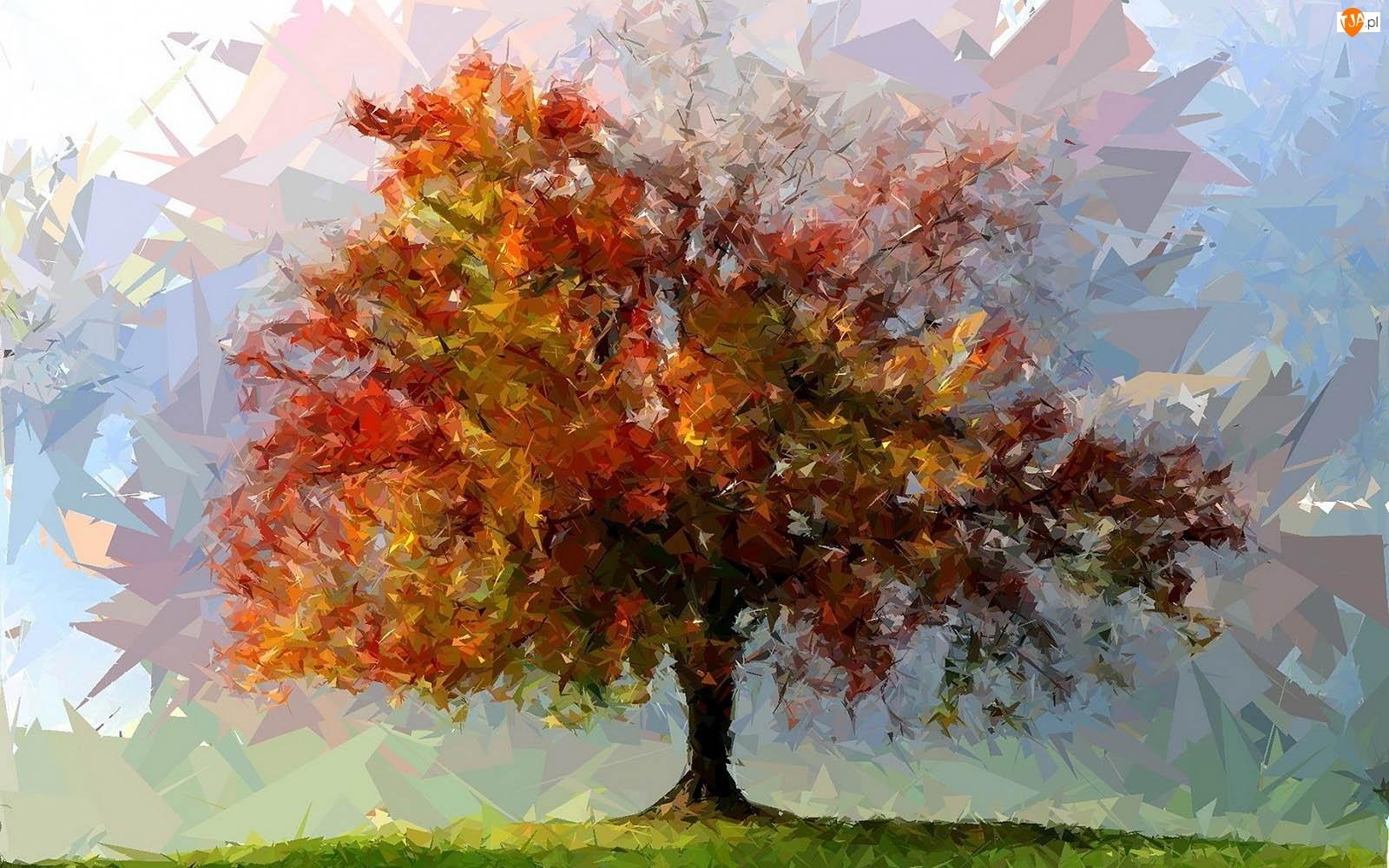 Grafika, Drzewo