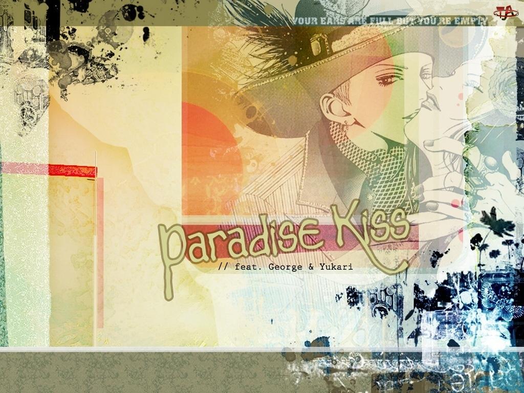 osoby, Paradise Kiss, pocałunek