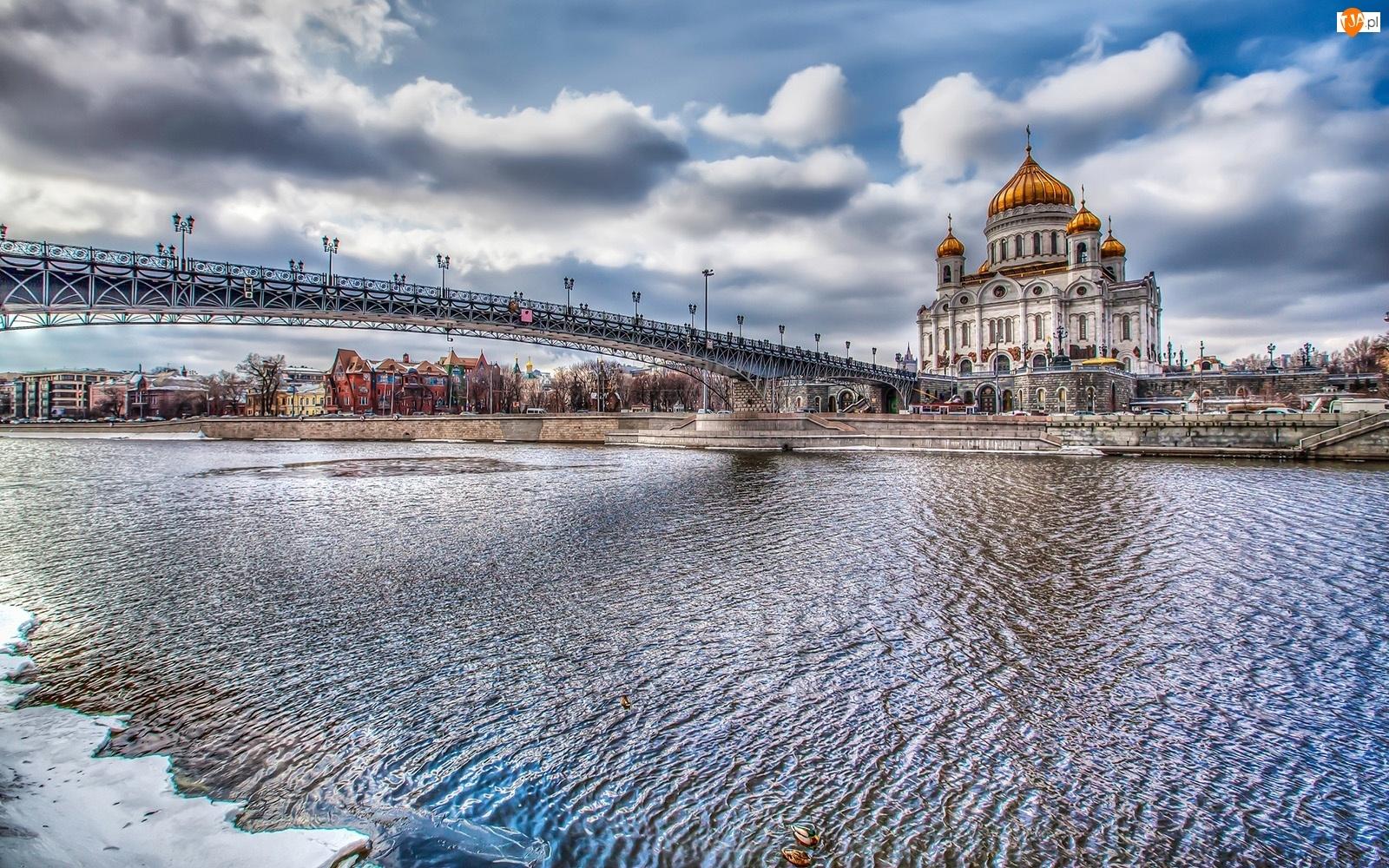 Most, Chrystusa, Moskwa, Zbawiciela, Rzeka, Cerkiew
