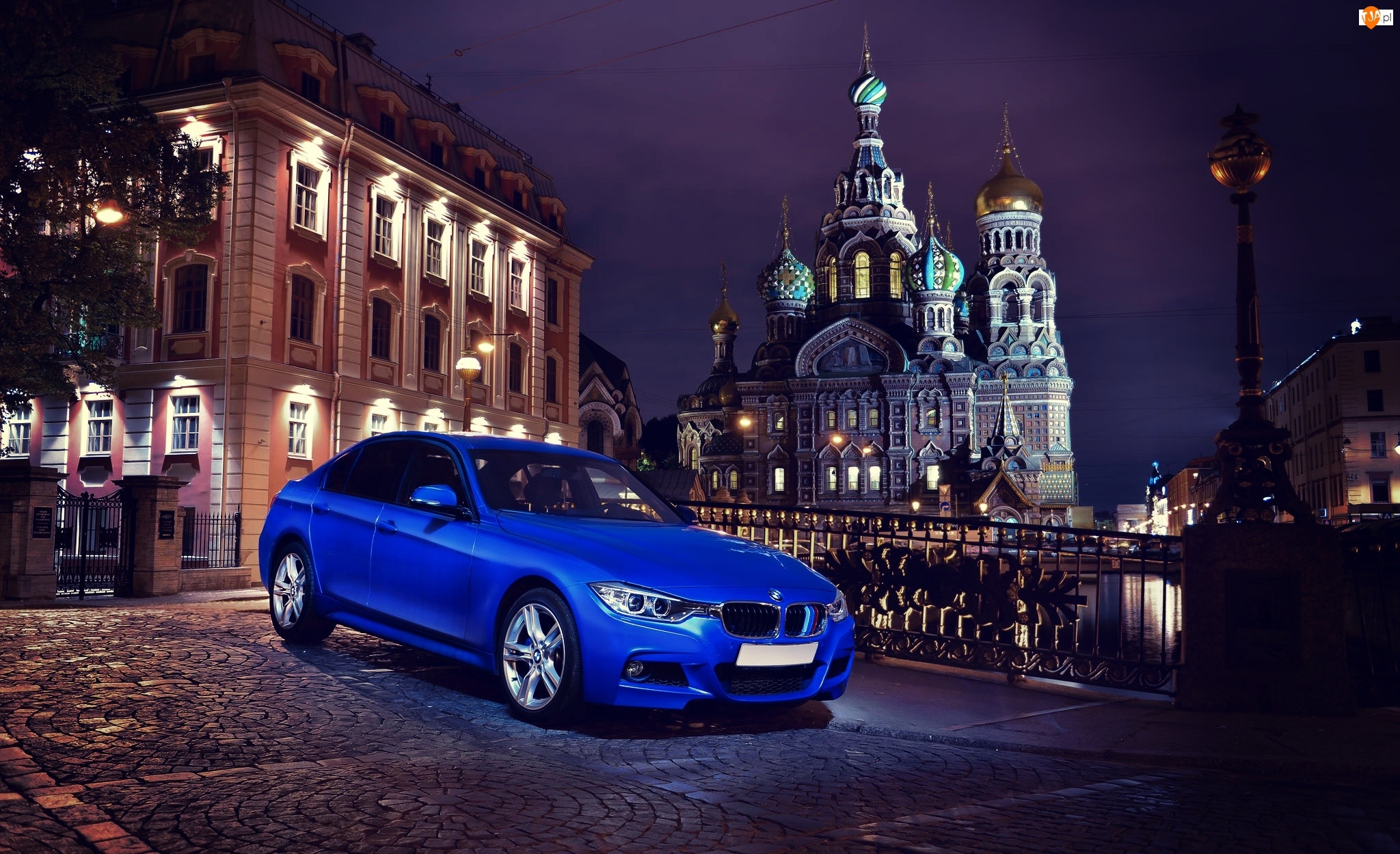 Sobór Zmartwychwstania Pańskiego, F30, BMW, Samochód, Petersburg, 335i, Cerkiew