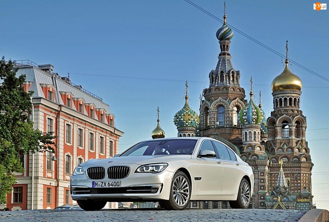 F01, Temple, Zbawiciela, Cerkiew, 2013, BMW, 750i