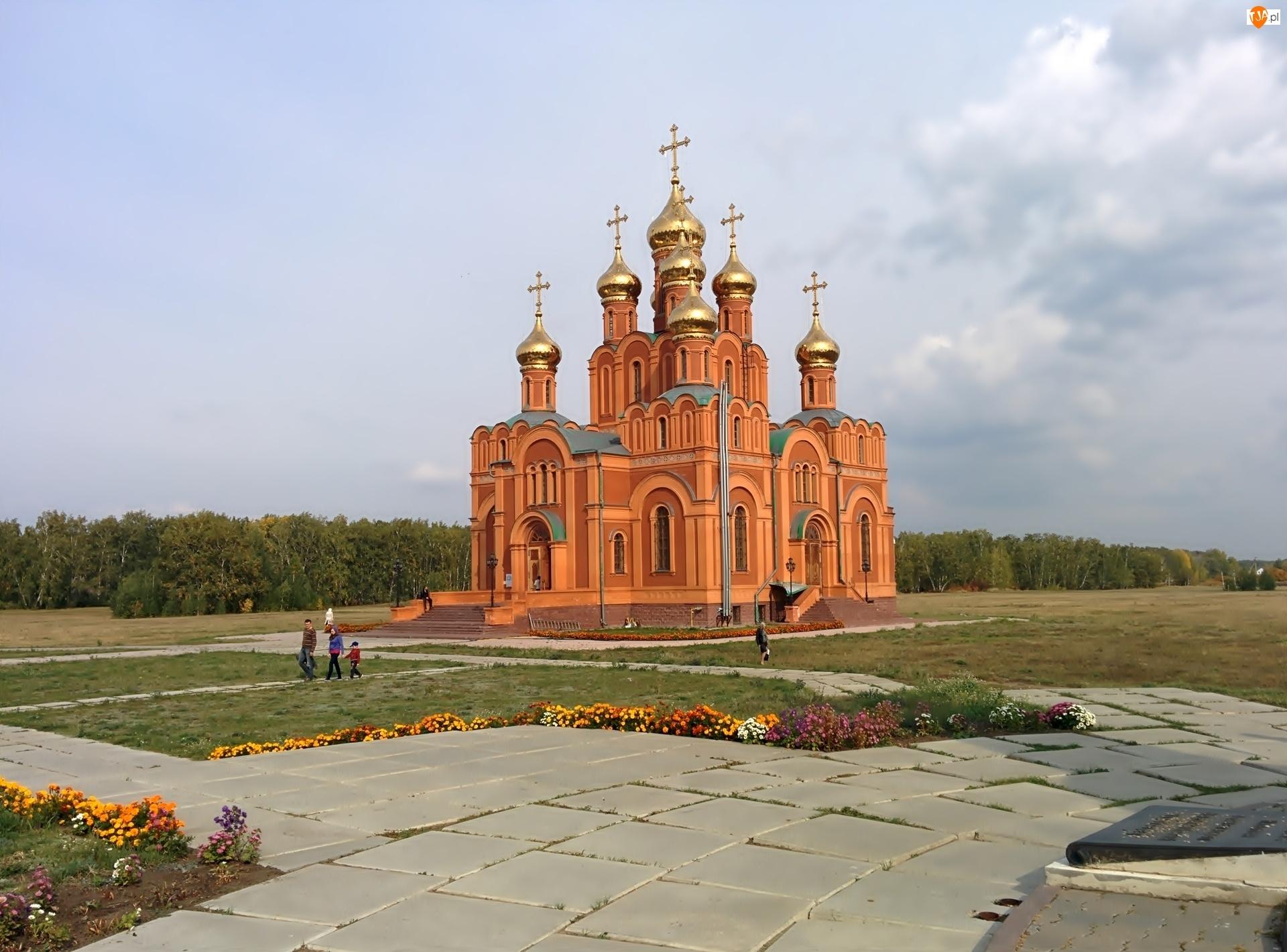 Cerkiew, Kwiaty