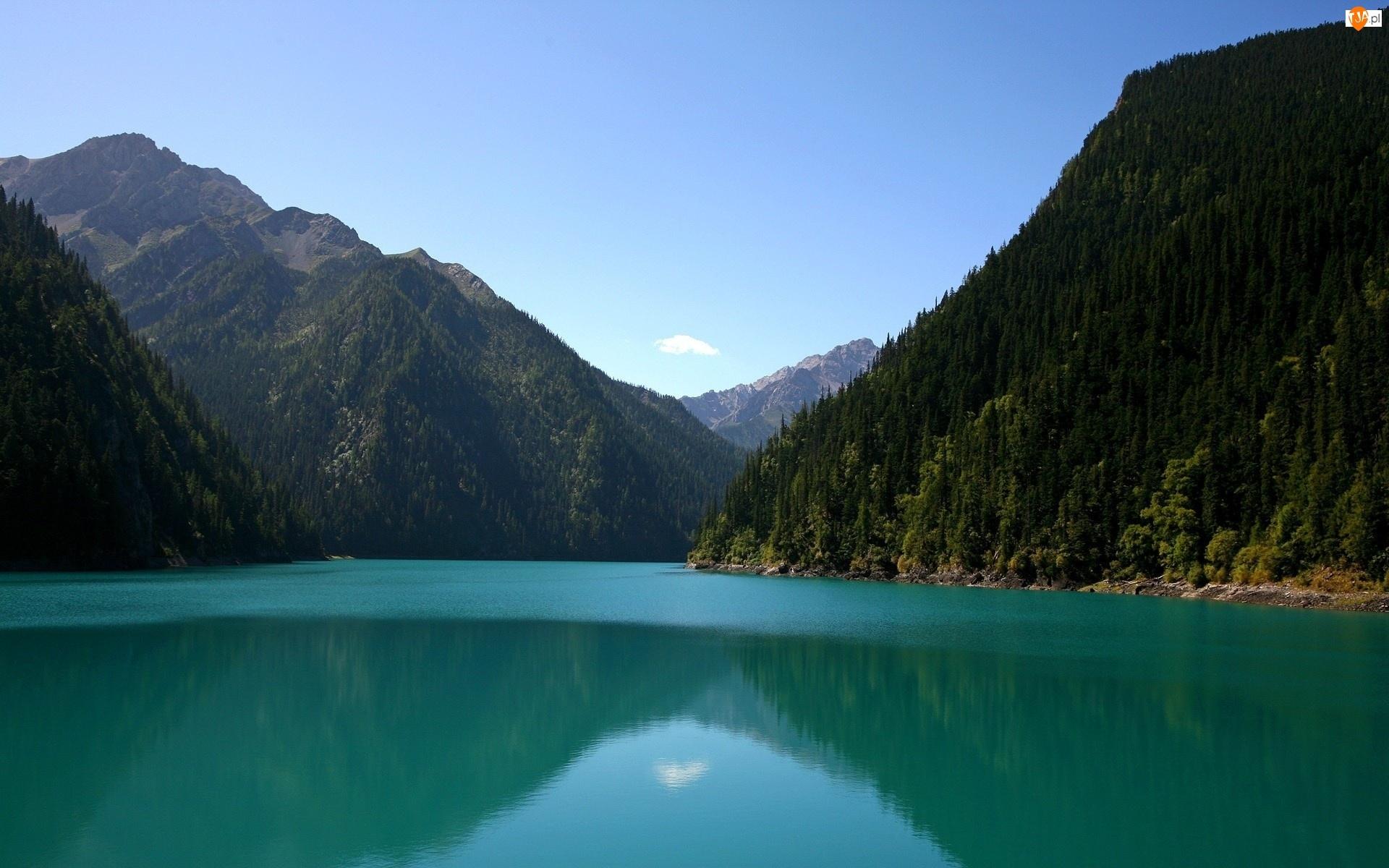 Jezioro, Góry