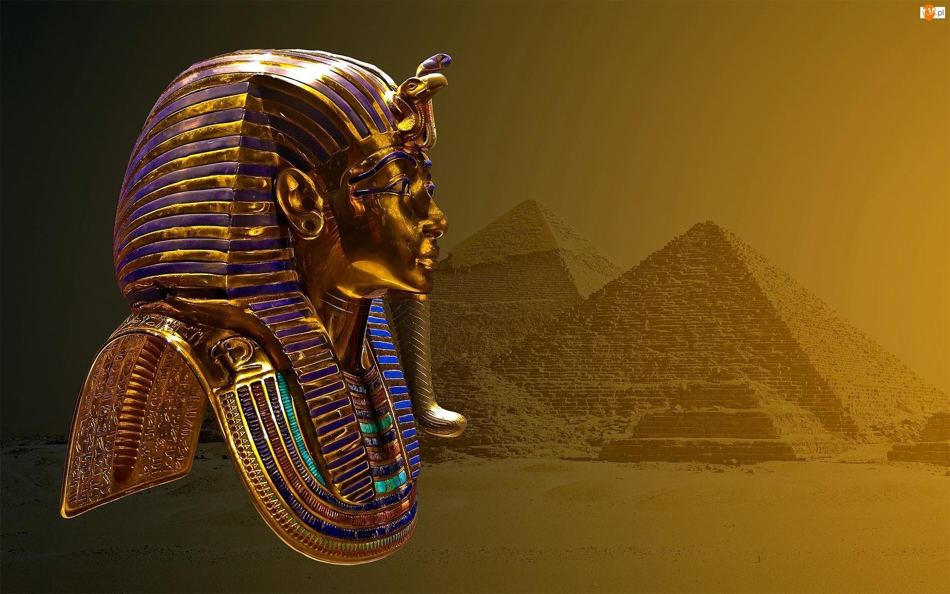 Tutanchamon, Piramidy