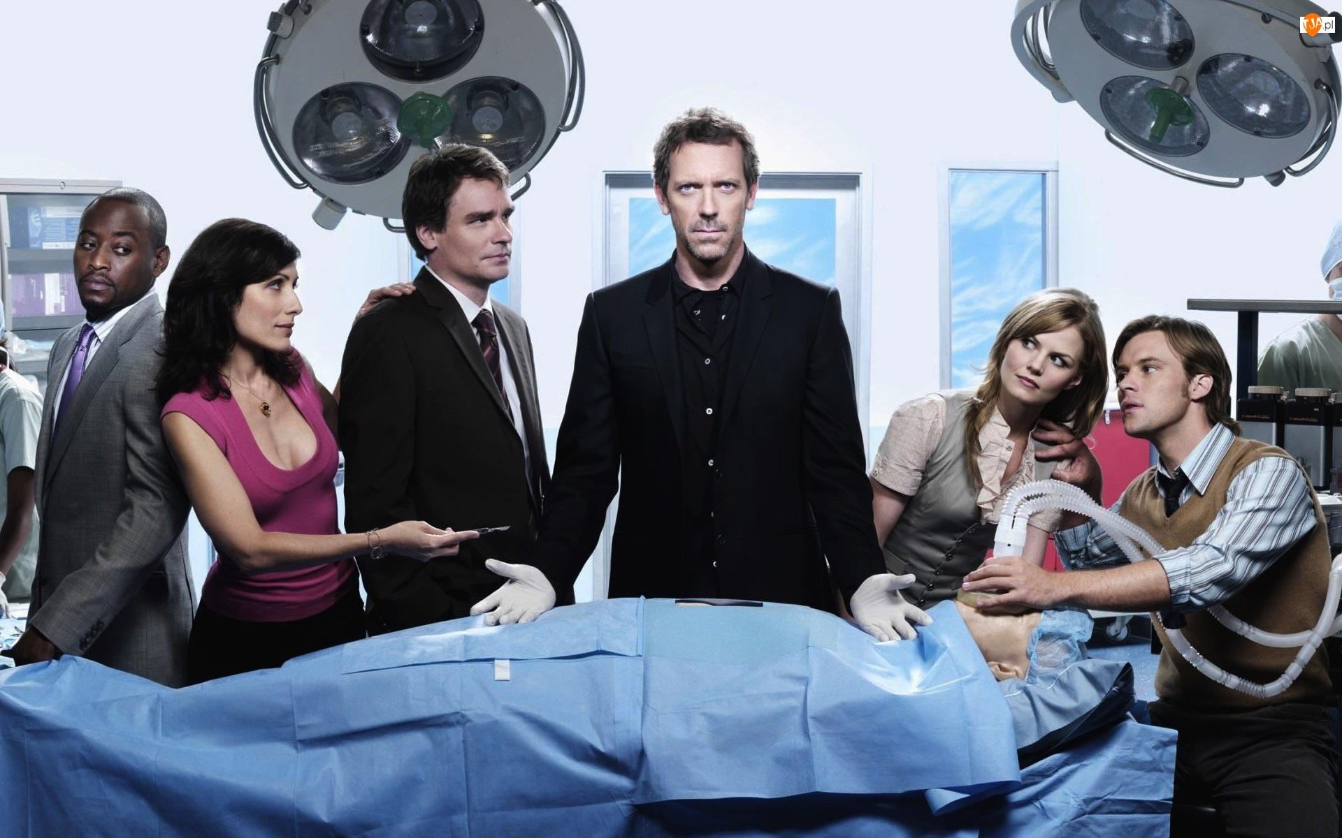 Hugh Laurie, Dr House, Aktorzy, Serial