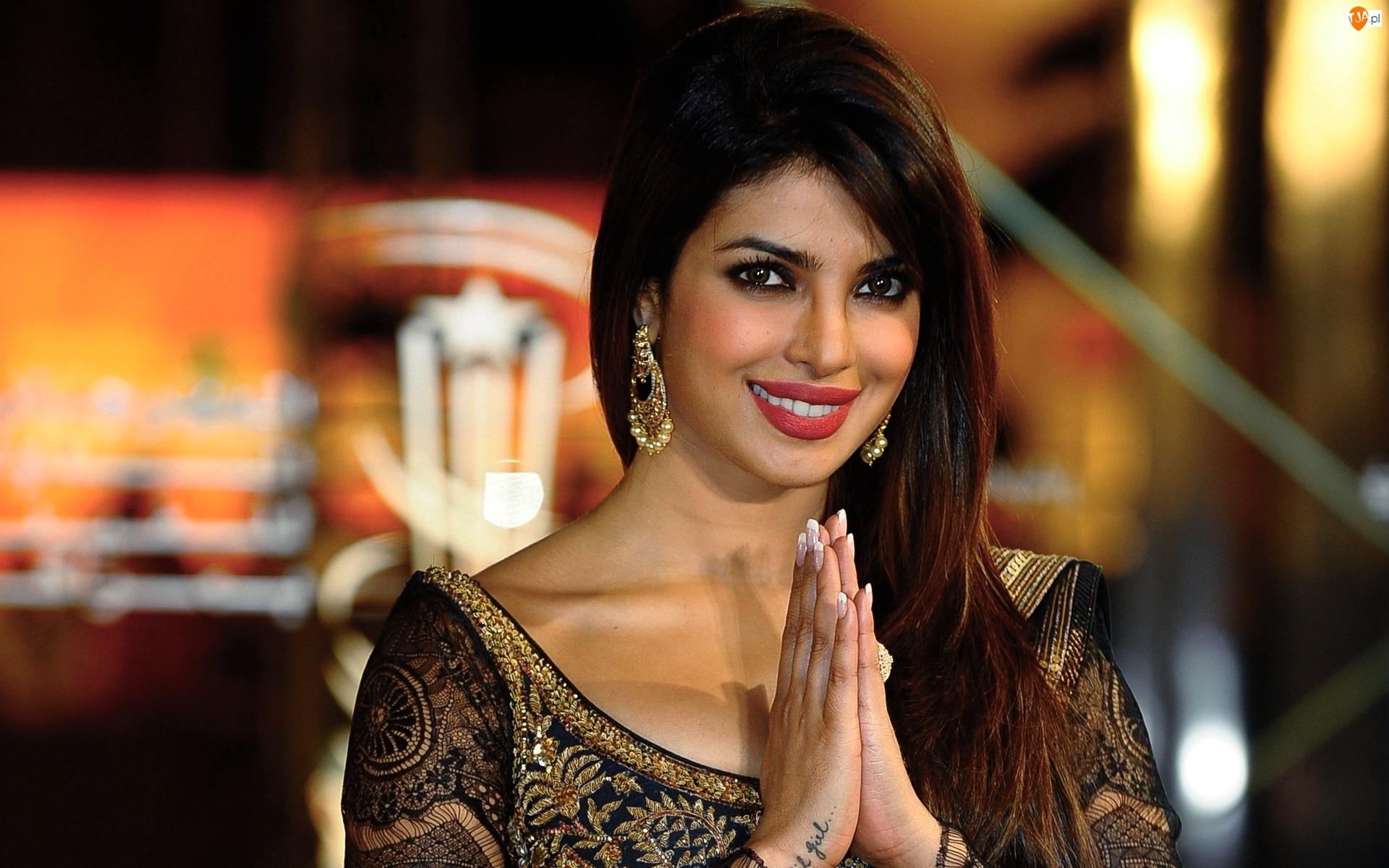Chopra, Aktorka, Bollywood, Kobieta, Priyanka