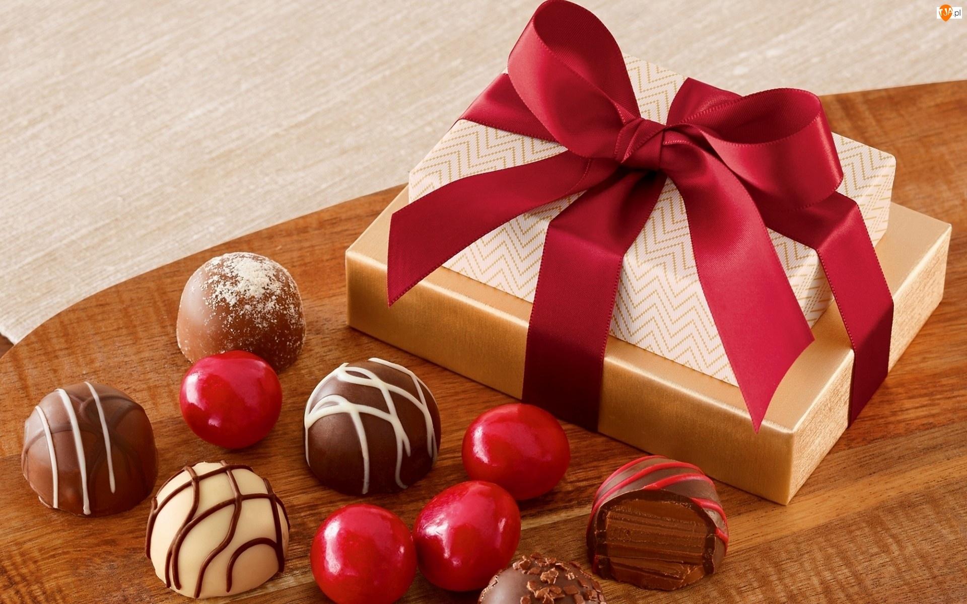 Podziękowanie, Prezent, Cukierki, Słodycze, Ciasteczka